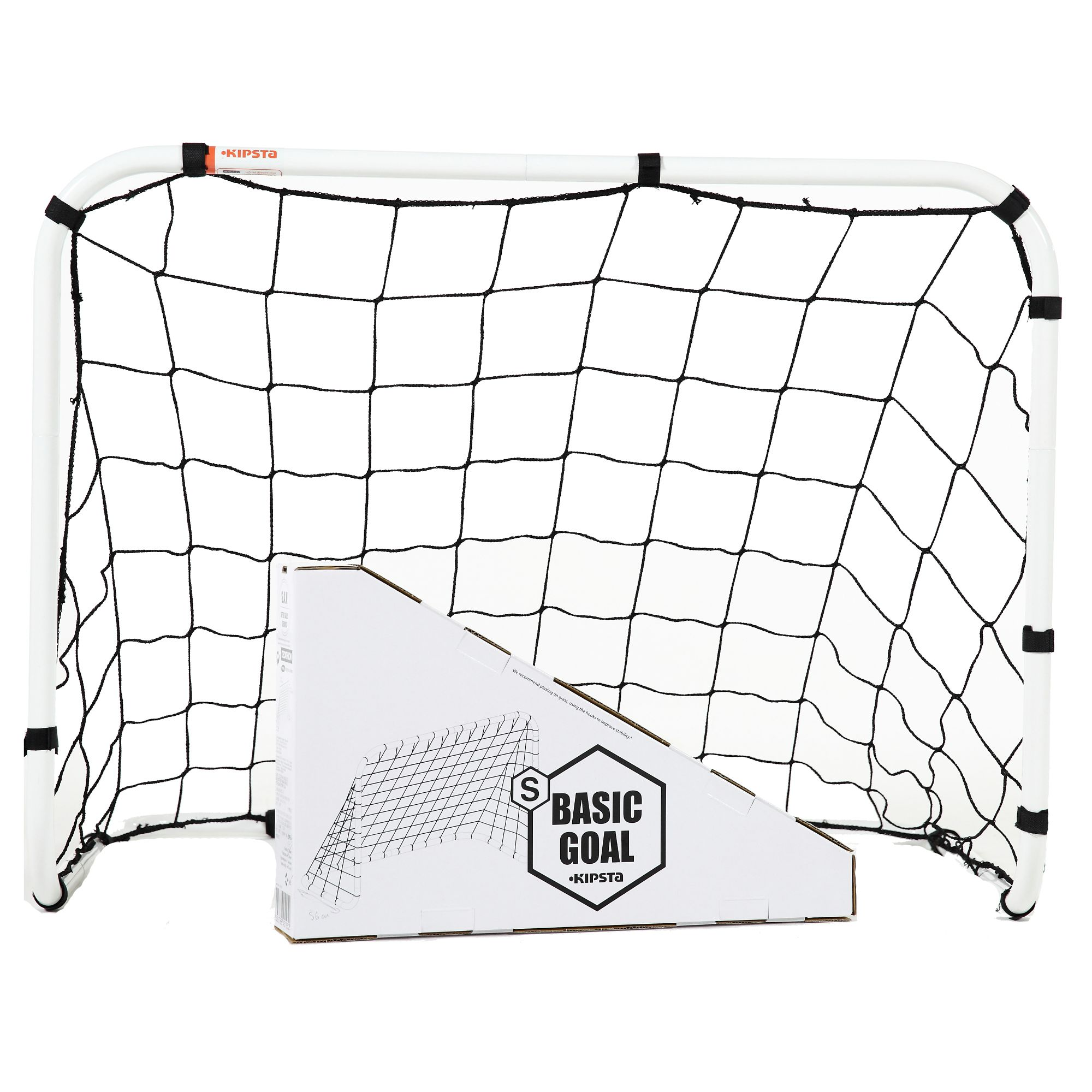Mini But De Football Basic Goal Taille S Blanc Clubs  # Recherche Vestiaire A Transforme En Rack Sono