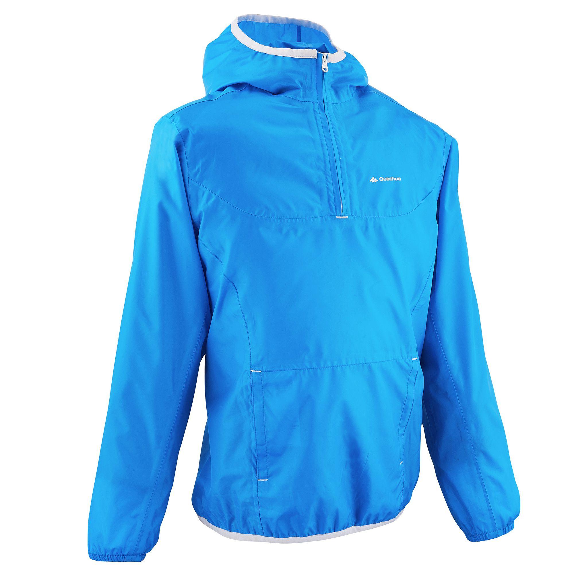 Veste Imperméable Rain Cut Randonnée Enfant Bleu