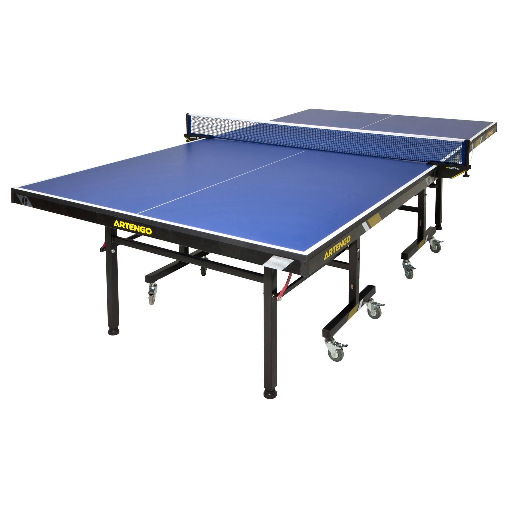 TABLE DE PING PONG FT950 HOMOLOGUEE FFTT BLEU