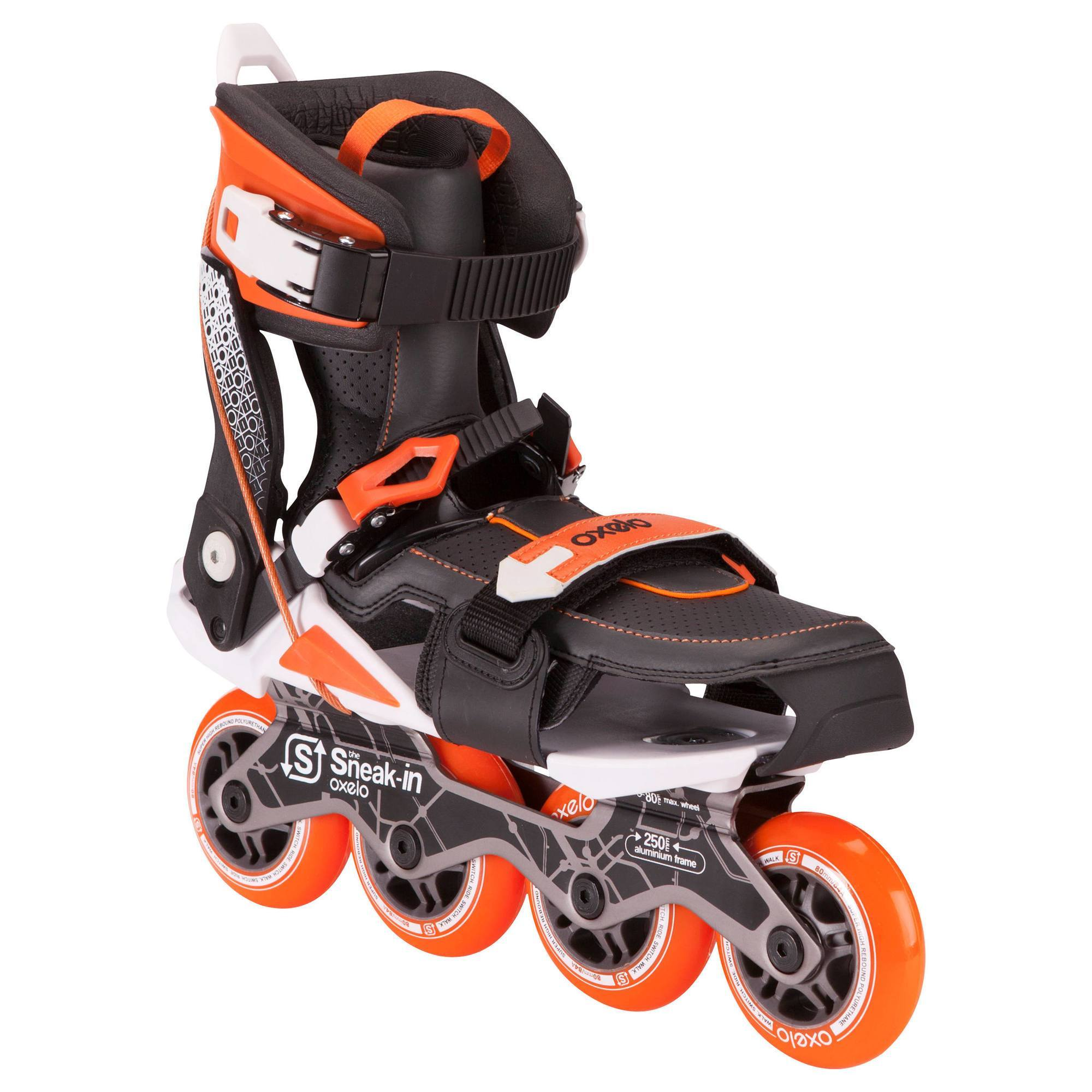ROLLERS ADAPTABLES AUX CHAUSSURES OXELO SNEAK IN