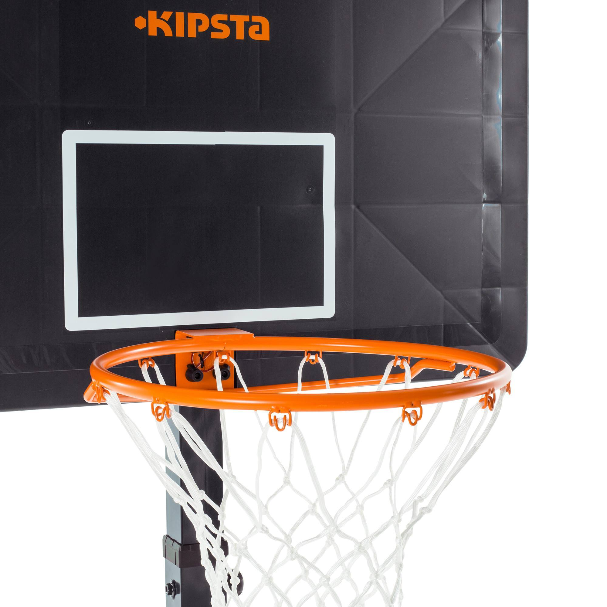 Panier de basket enfant adulte b400 easy bleu orange 2 - Decathlon panier basket ...