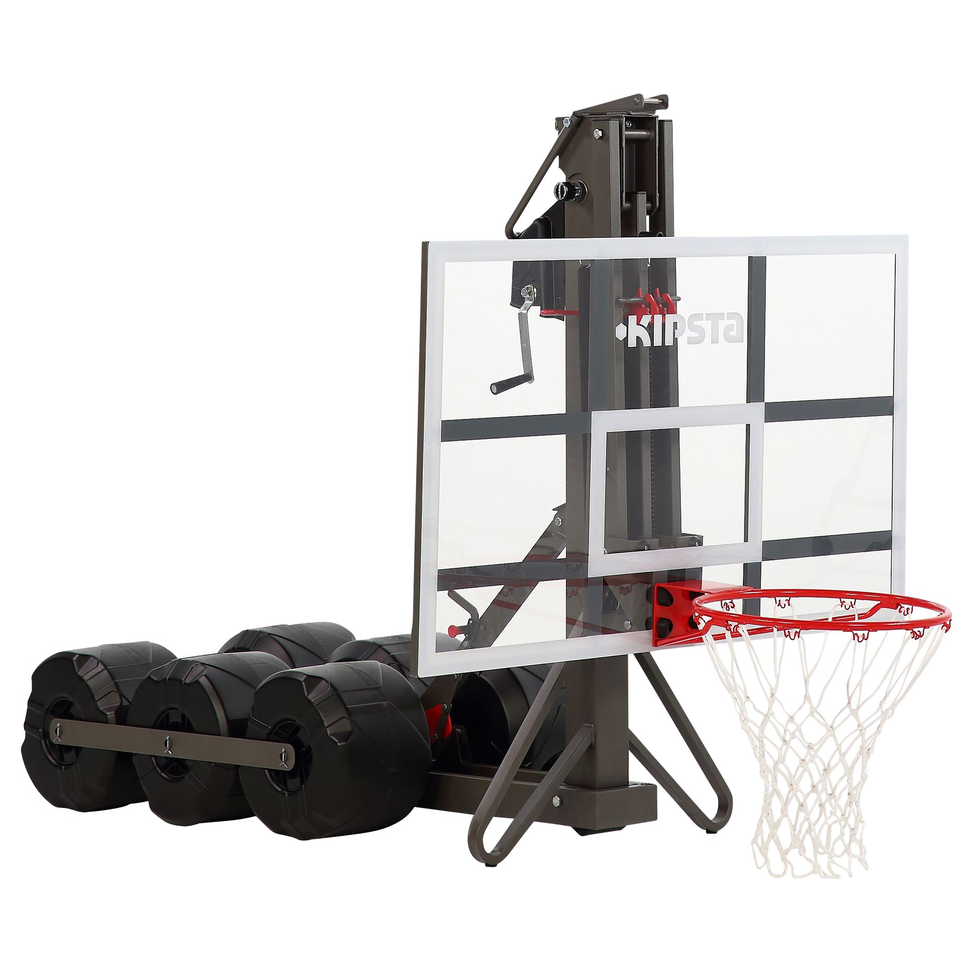 Panier de basket enfant adulte b900 2 40m 3 05m se r gle et se range en 2mn clubs - Decathlon panier basket ...