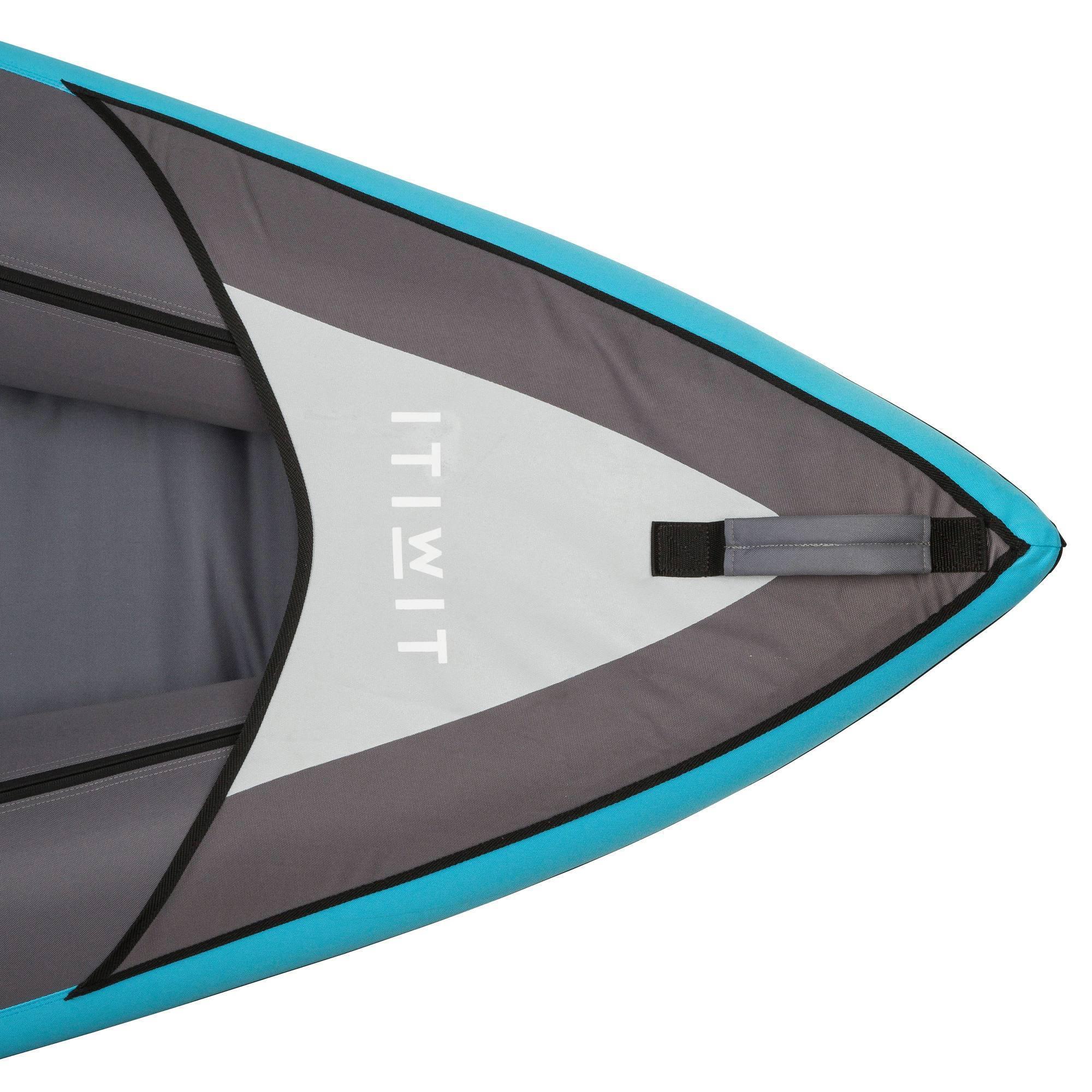 canoe kayak gonflable 2 3 places bleu clubs. Black Bedroom Furniture Sets. Home Design Ideas