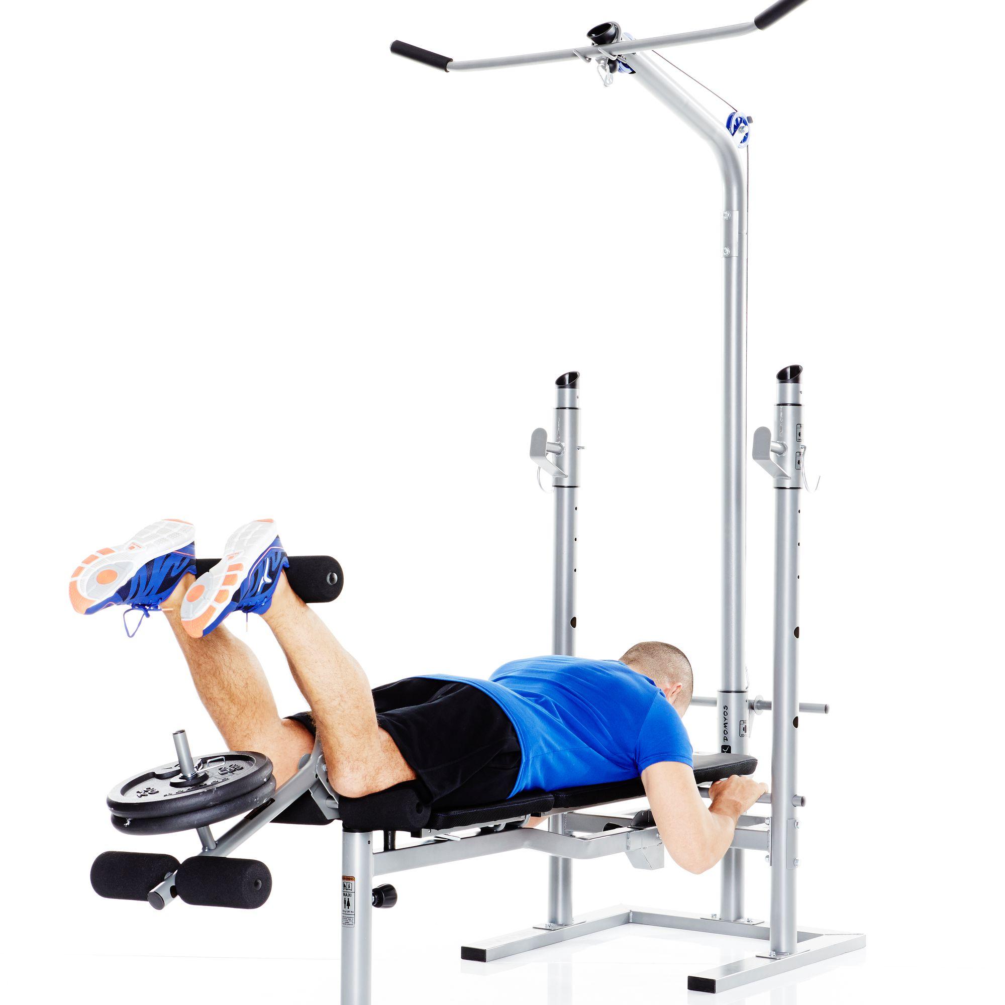 Banc De Musculation Avec Poulie Decathlon