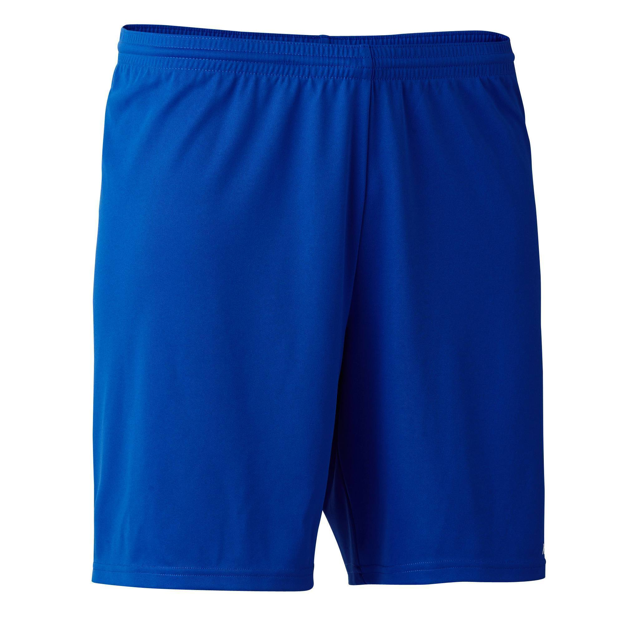 SHORT DE FOOTBALL ADULTE F100 BLEU Clubs   Collectivités  32a566e0278