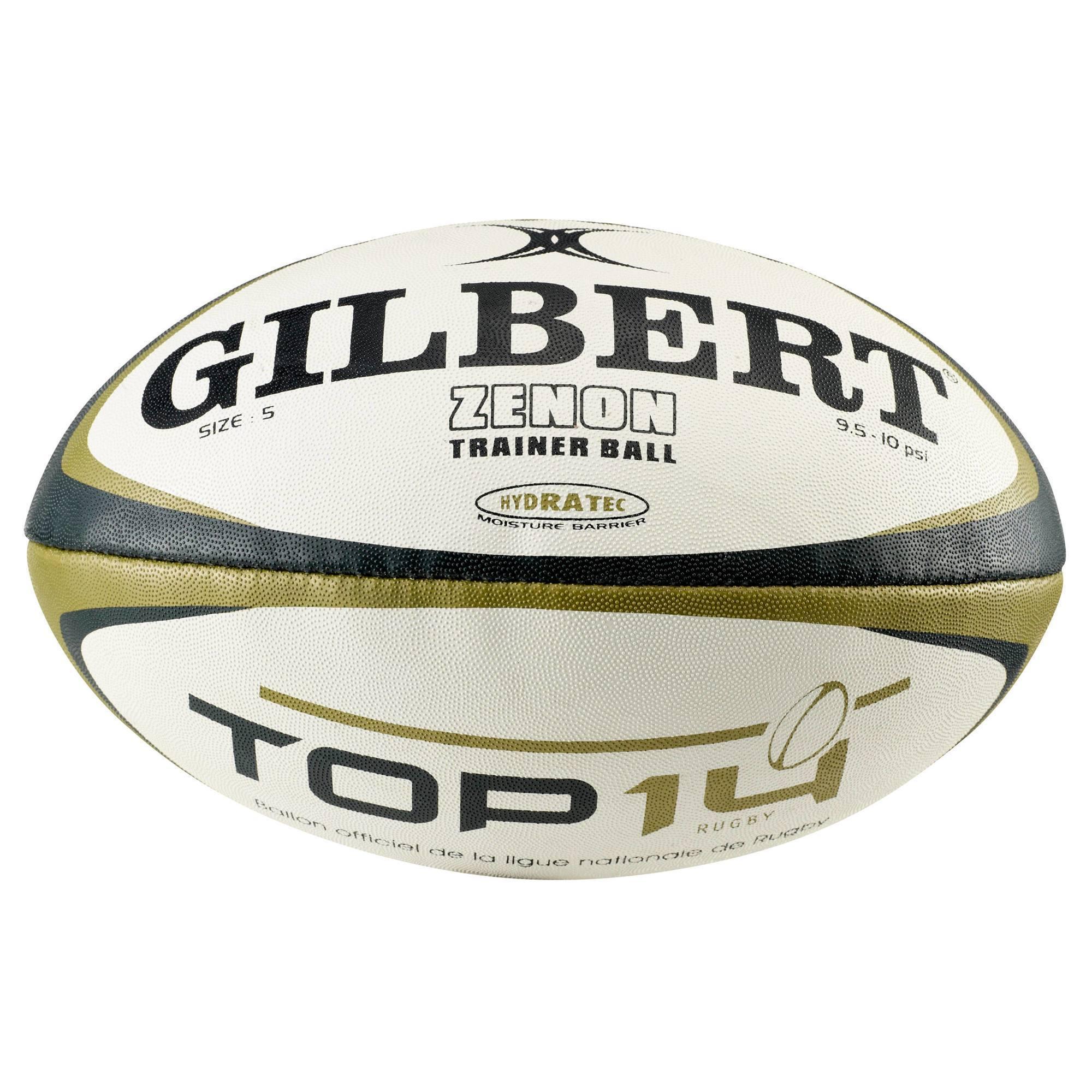 BALLON DE RUGBY OFFICIEL TOP 14 COMPÉTITION GILBERT