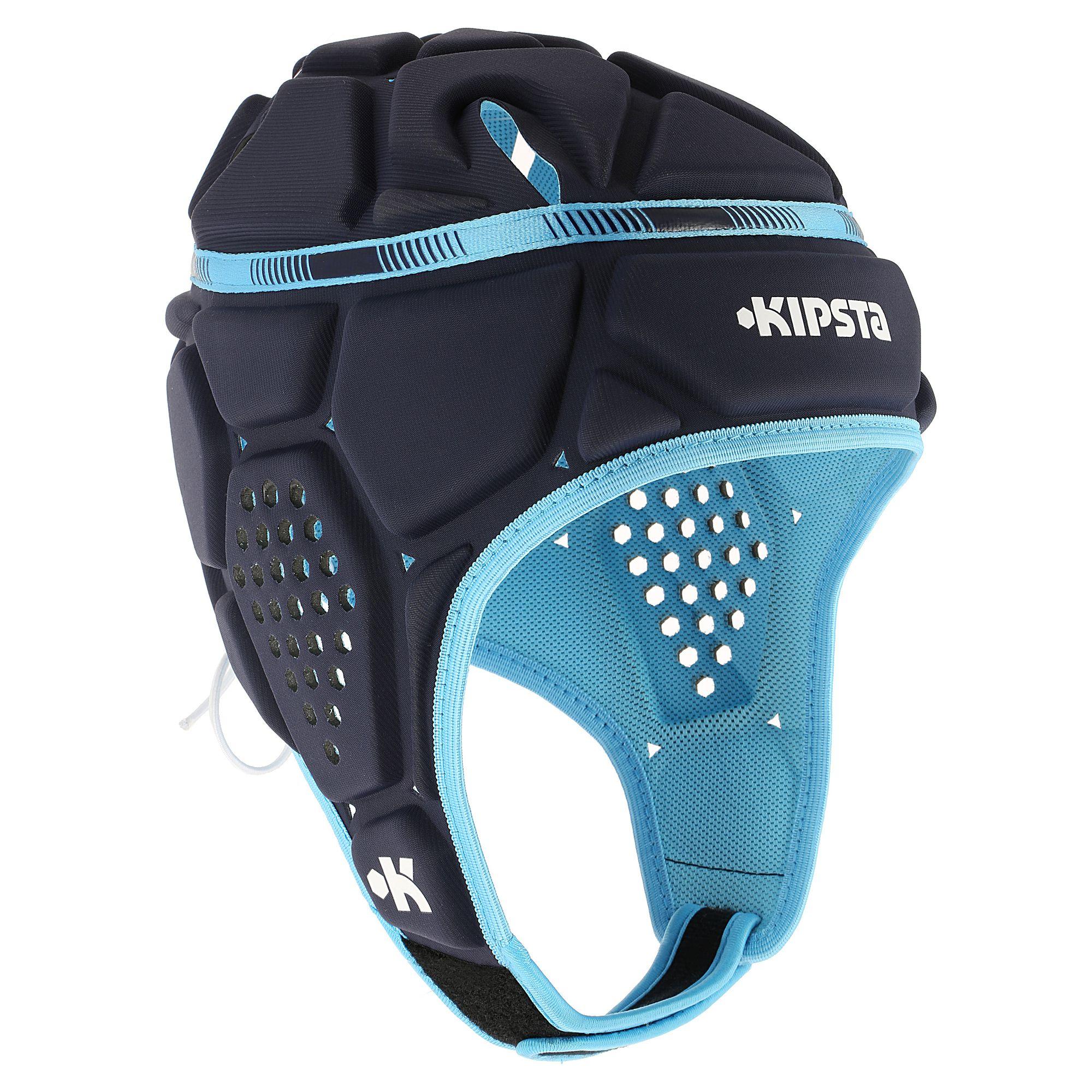 Casque rugby Full H 500 bleu