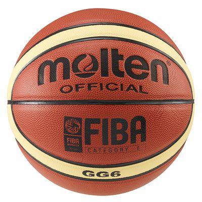 BALLON BASKET-BALL MOLTEN GG6X TAILLE 6 COMPETITION