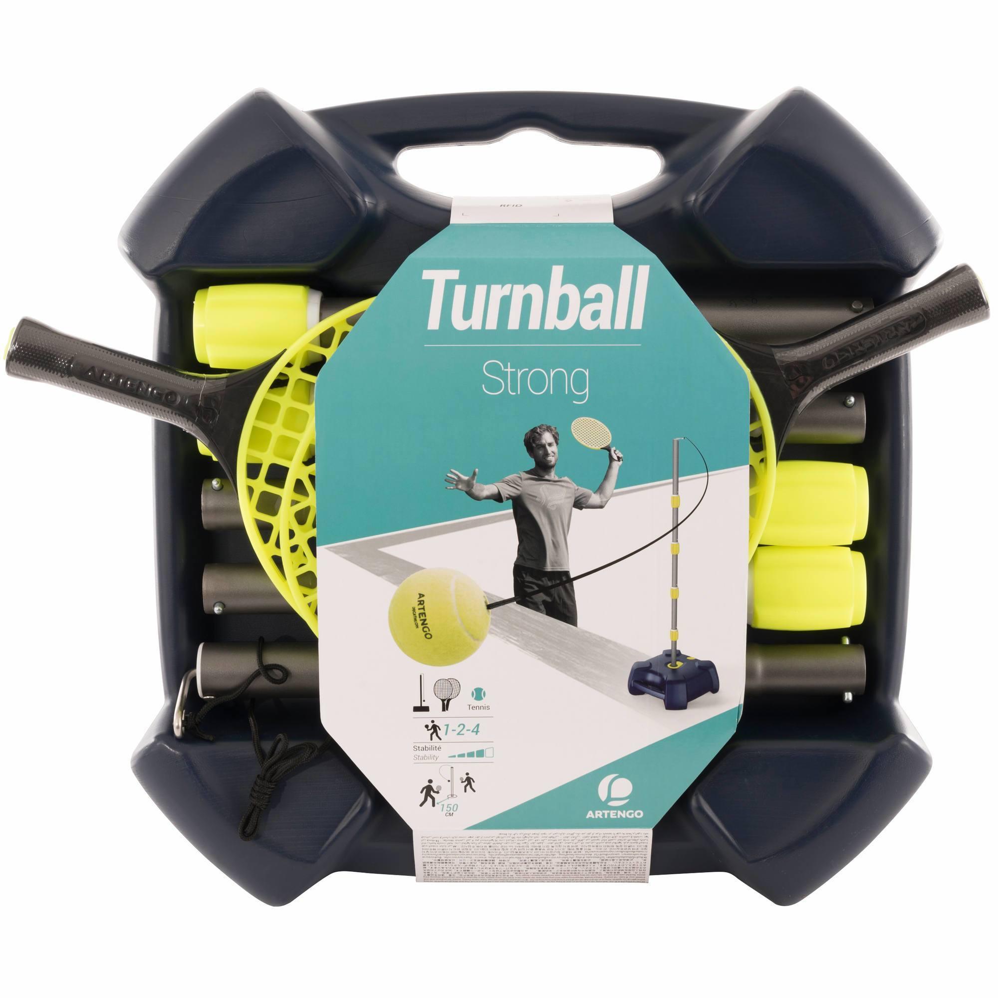 """PACK DE SPEEDBALL (1 MAT, 2 RAQUETTES et 1 BALLE) """"Turnball STRONG"""""""