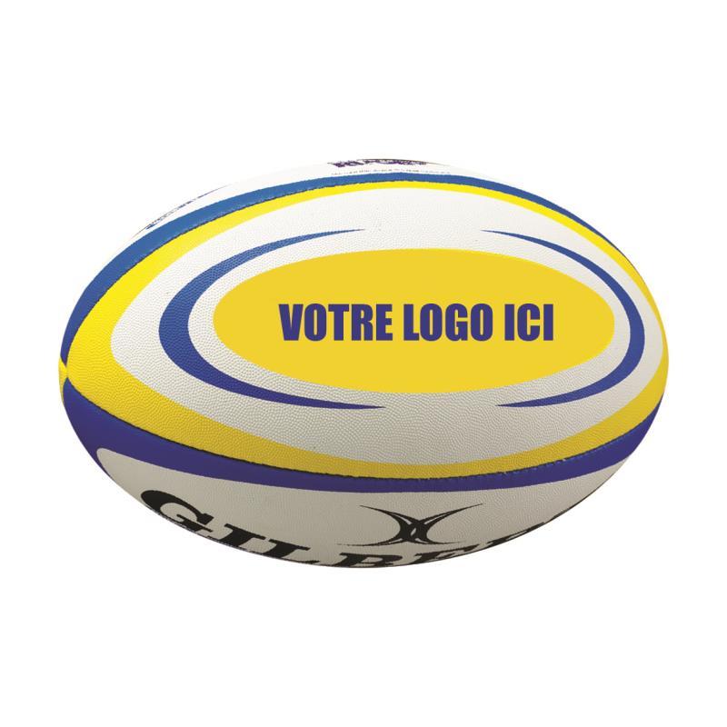 Ballon de rugby zenon gilbert personnalisable clubs collectivit s d - Ballon de rugby prix ...