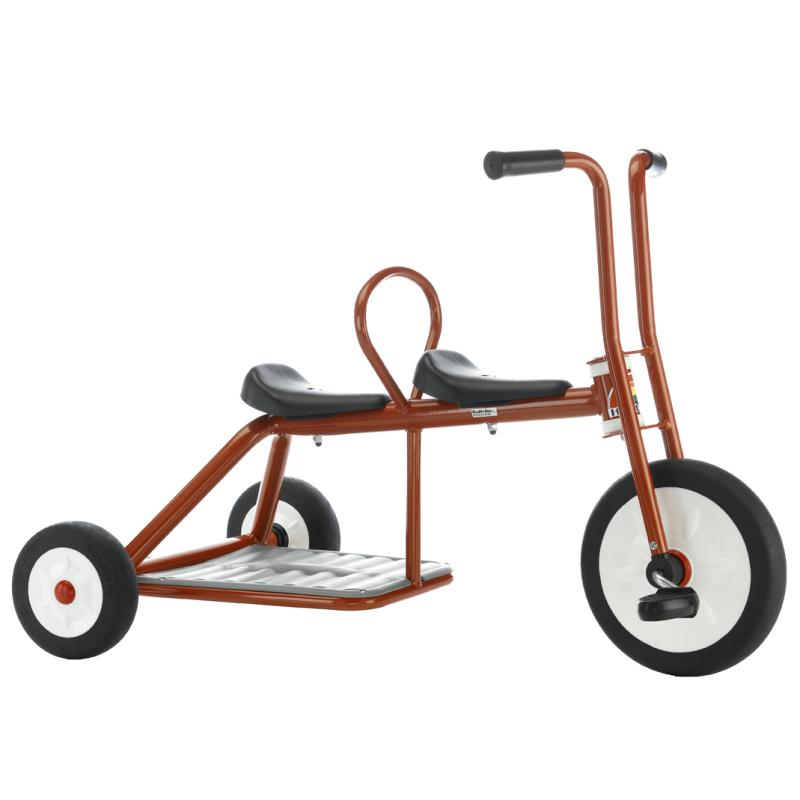 TRICYCLE ÉCOLE BI-PLACE CARRY MEDIUM