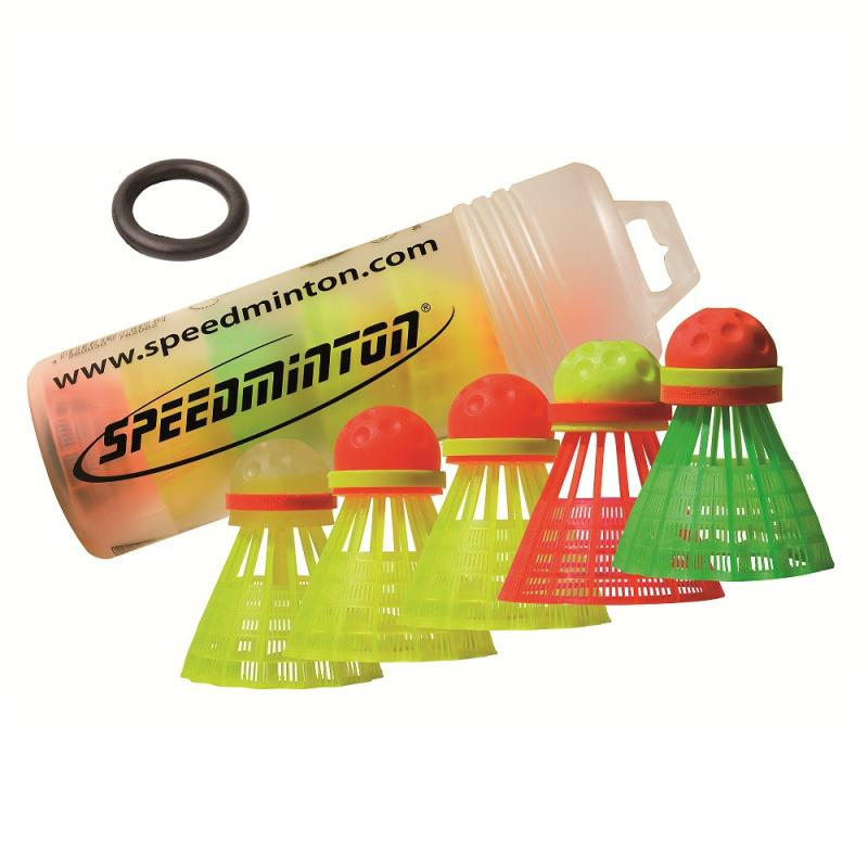 TUBE DE 5 VOLANTS DE SPEEDMINTON