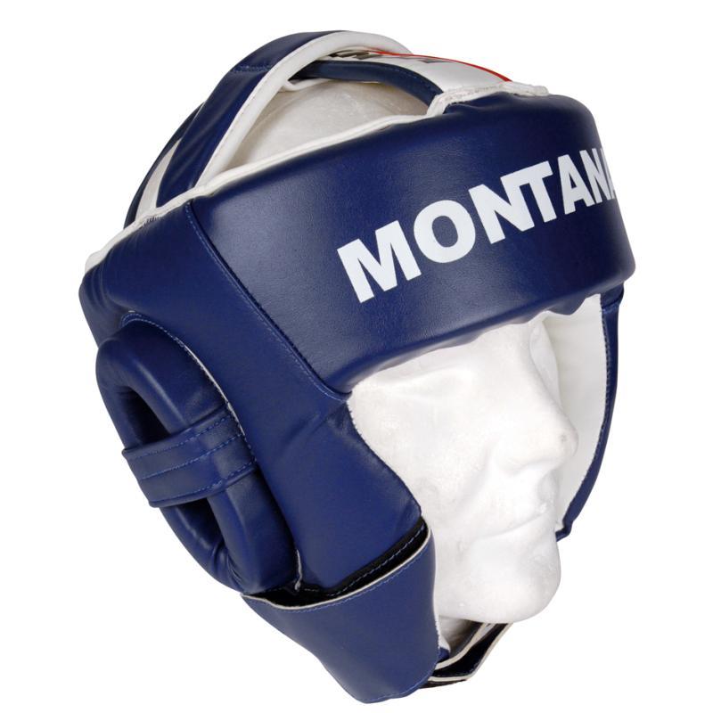 CASQUE DE PROTECTION BOXE ADULTE BLEU MONTANA
