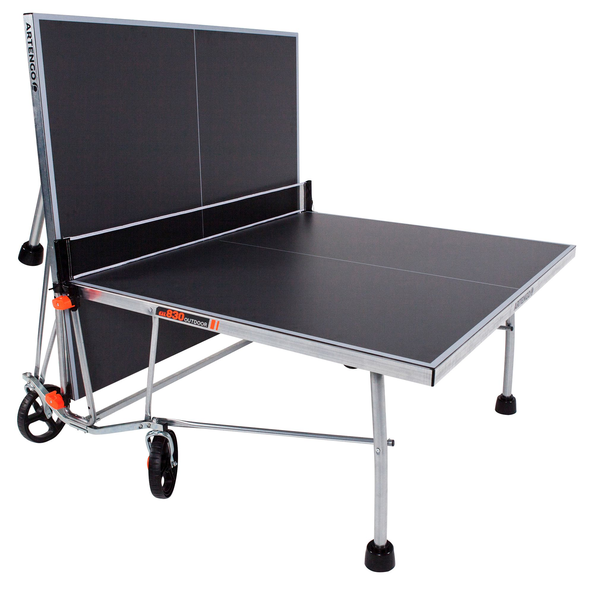 Table de tennis de table artengo ft830 outdoor clubs - Table de ping pong exterieur pour collectivite ...