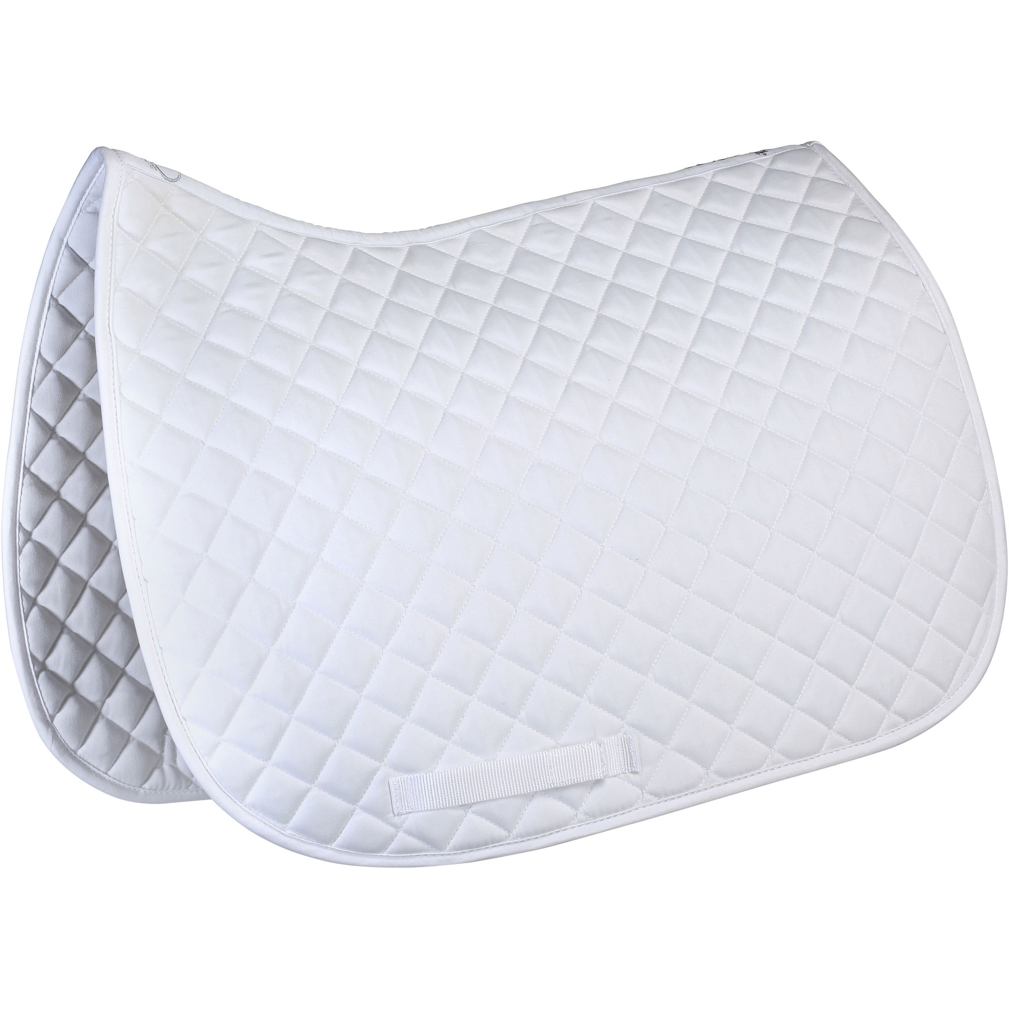 tapis de selle quitation schooling blanc taille poney. Black Bedroom Furniture Sets. Home Design Ideas