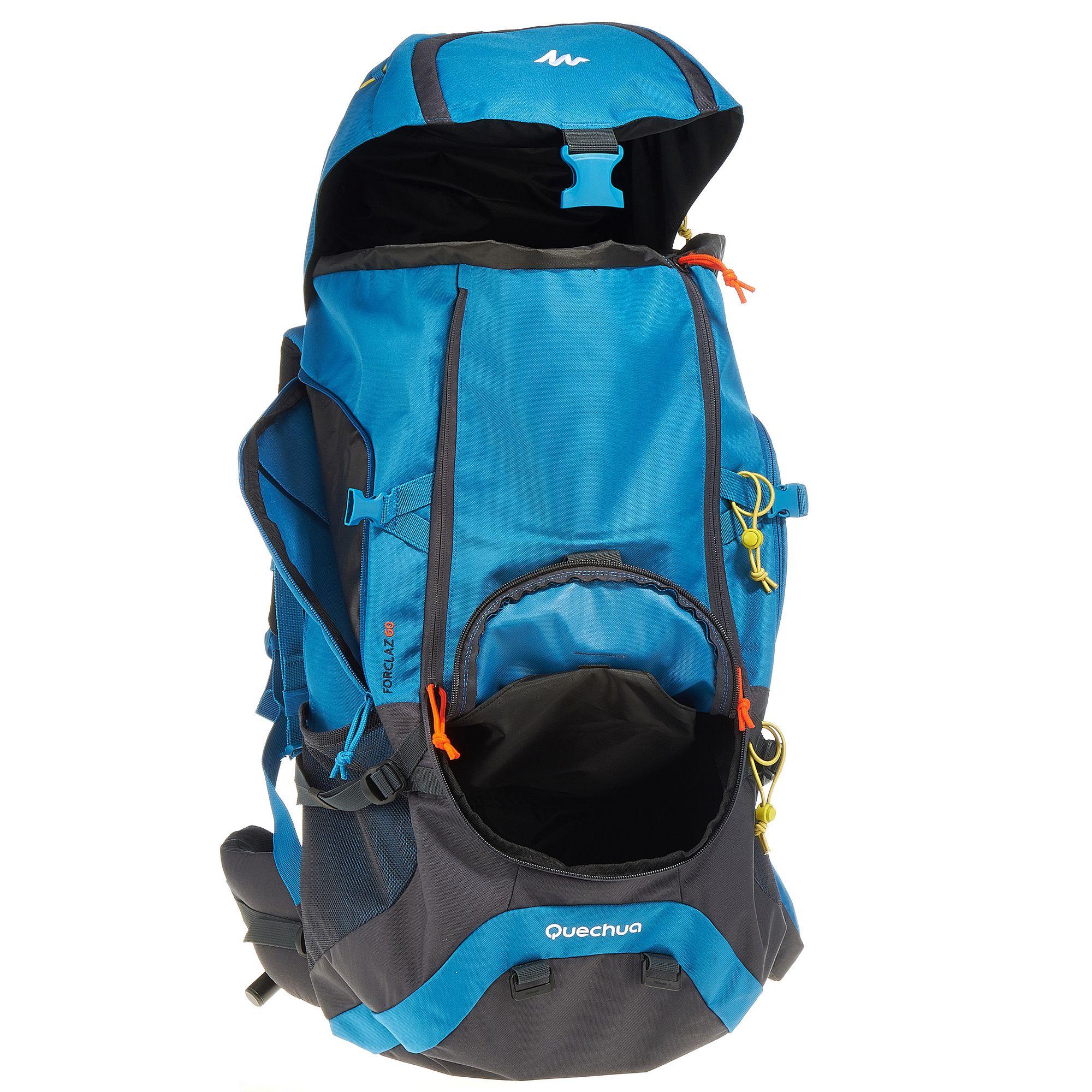 30c666c542 Sac à dos Trekking Forclaz 60 litres bleu - Clubs & Collectivités ...
