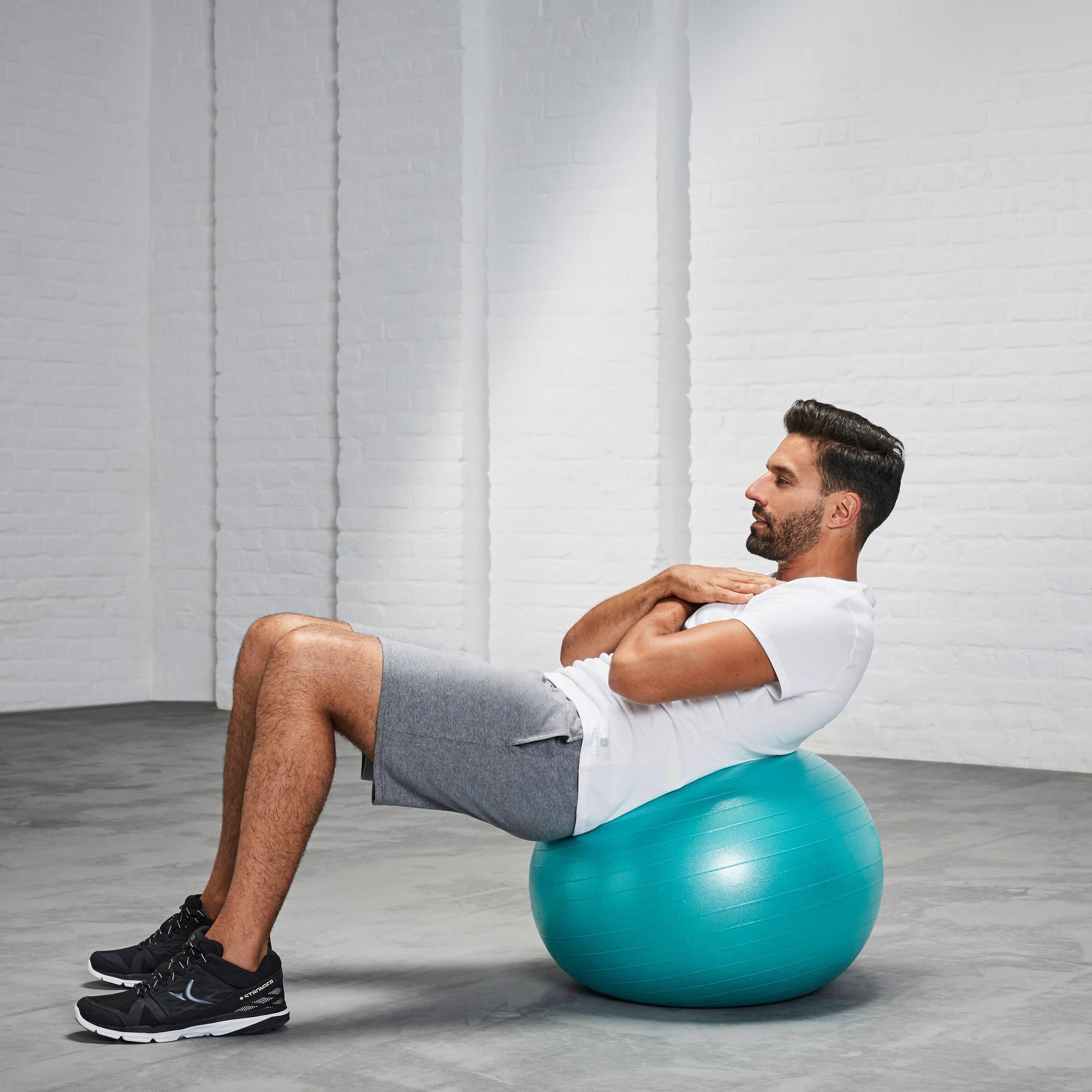 ballon de gym et pilates anti eclatement small clubs collectivit s decathlon pro. Black Bedroom Furniture Sets. Home Design Ideas