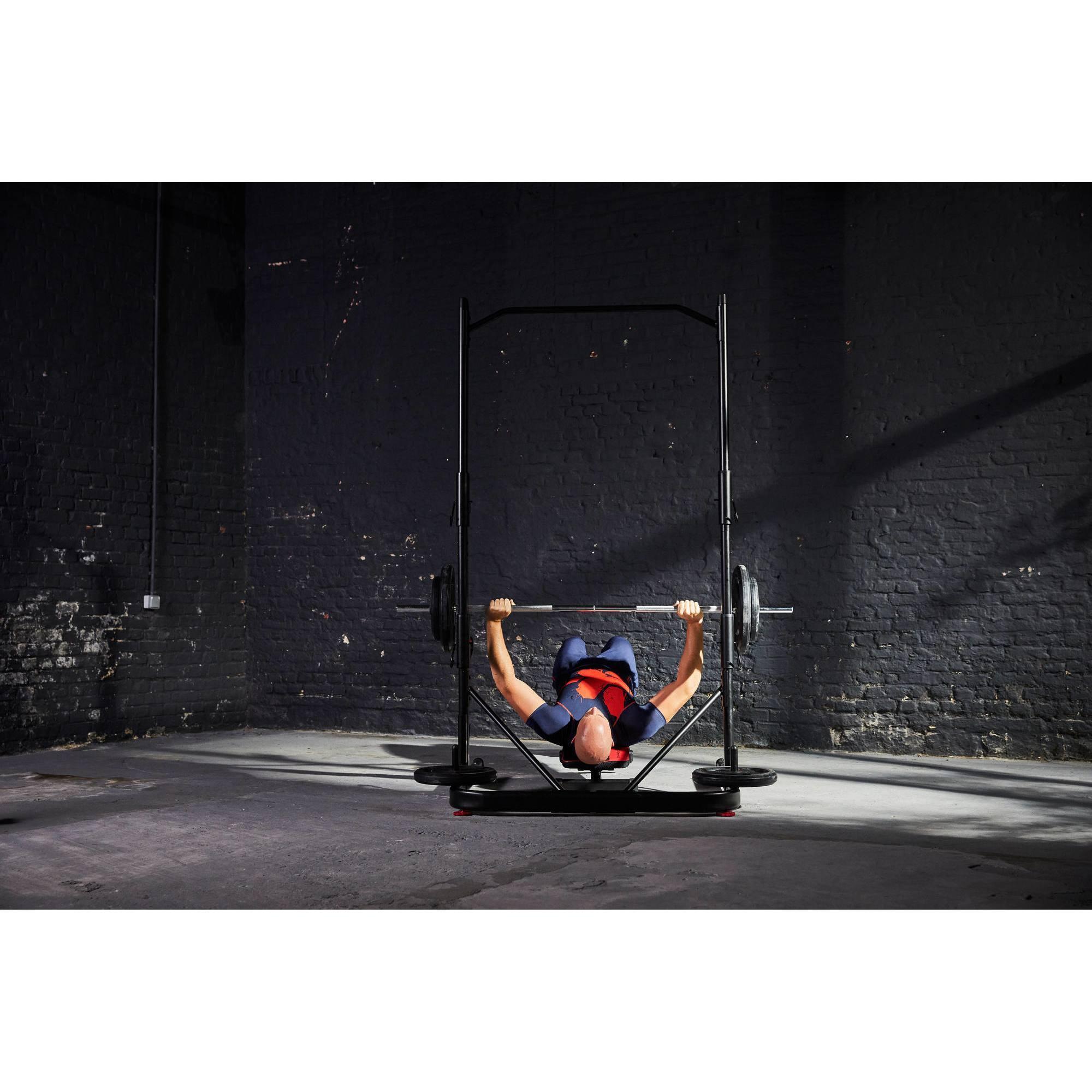 Rack Musculation 500 Clubs Collectivit S Decathlon Pro # Recherche Vestiaire A Transforme En Rack Sono