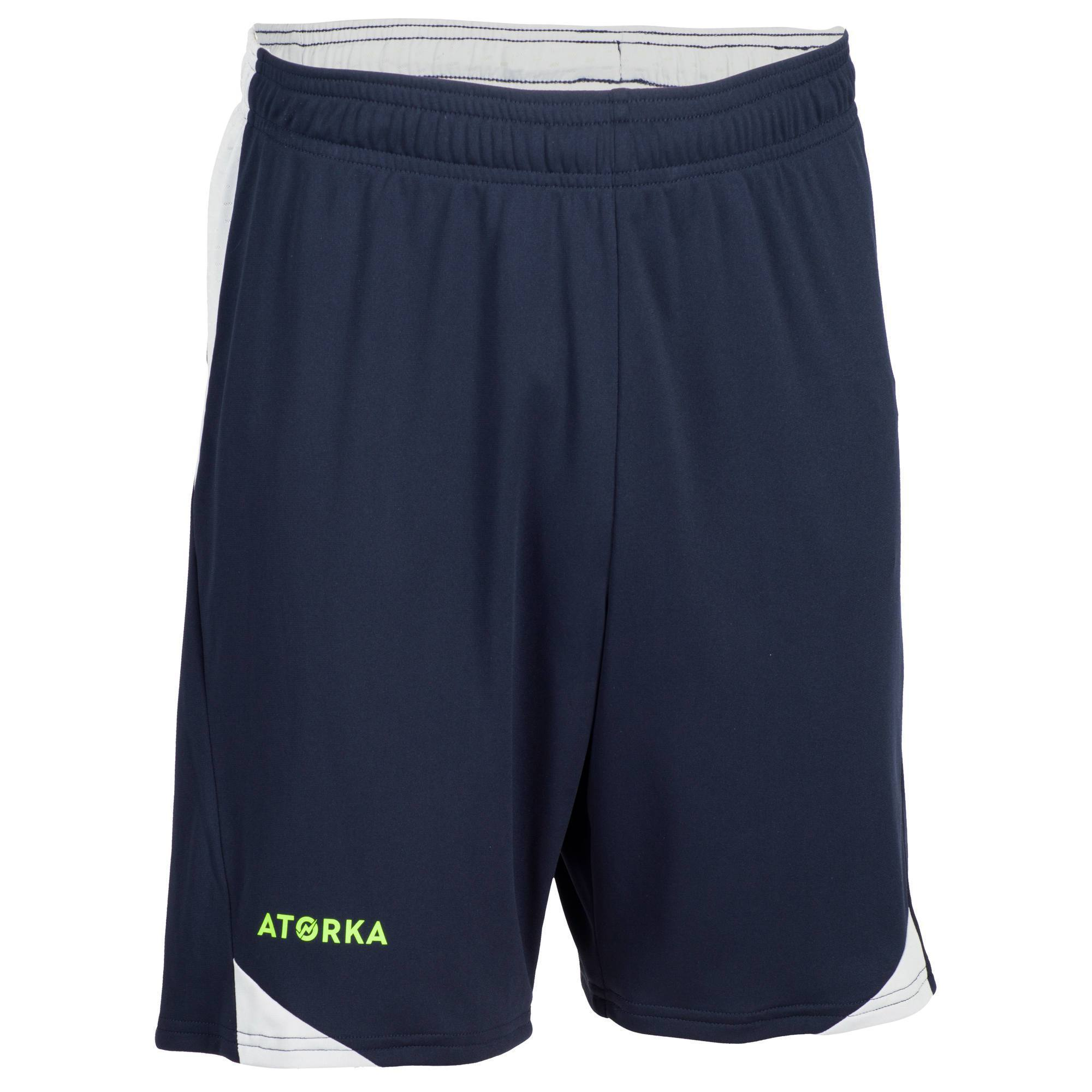 Short de handball H500 homme gris bleu et gris - Clubs ... 01073d58cb9
