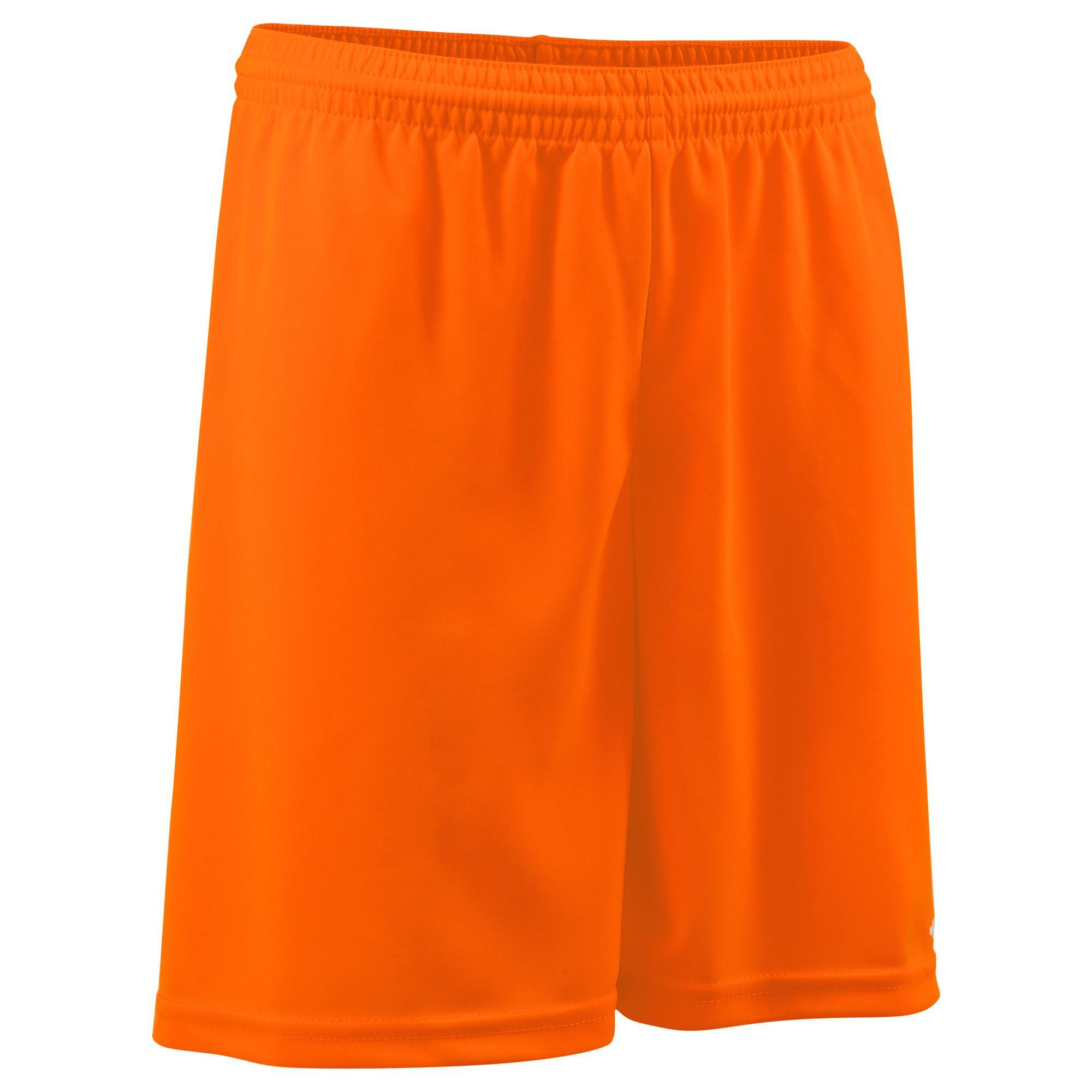 Short de football adulte F100 orange