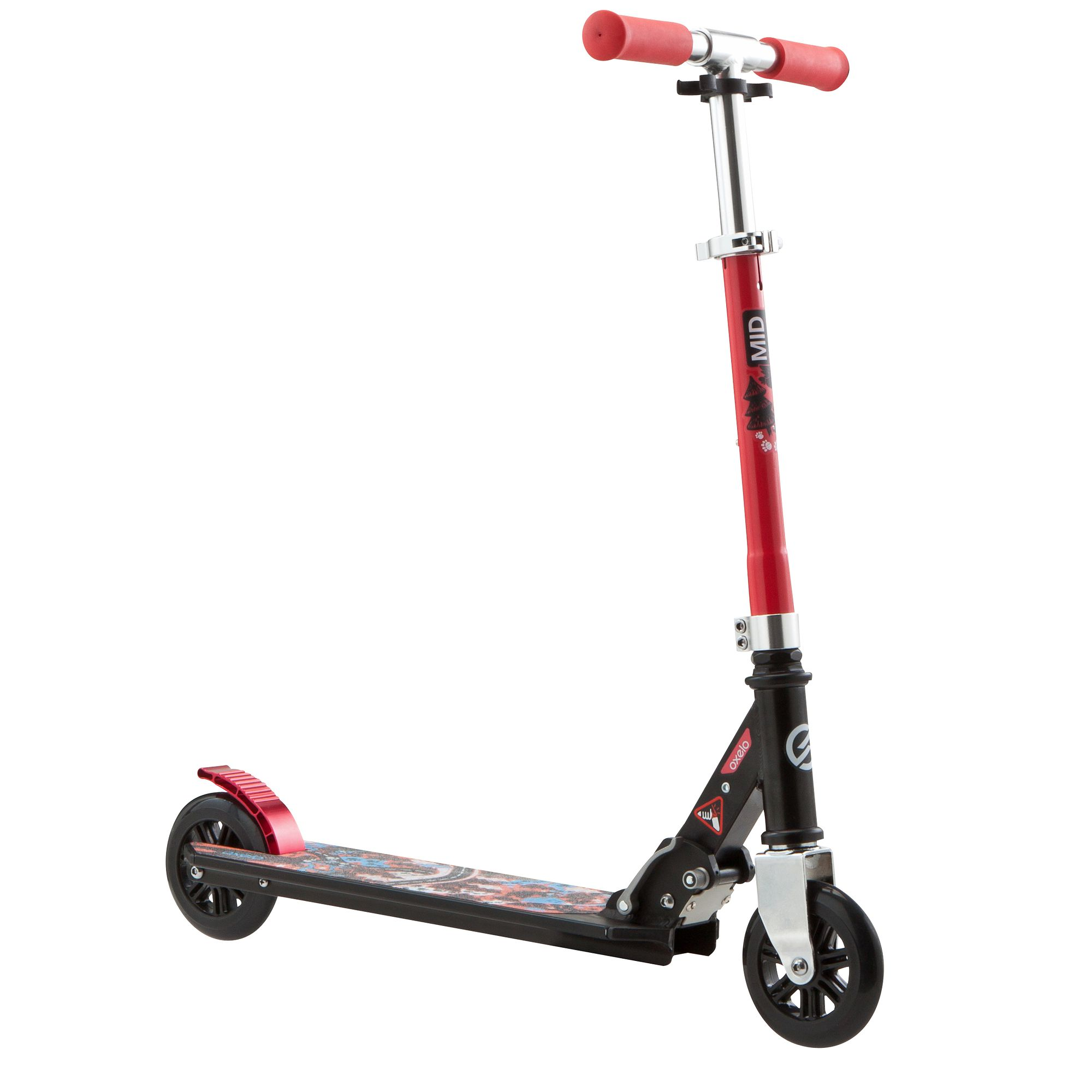 TROTTINETTE ENFANT MID1 ROUGE
