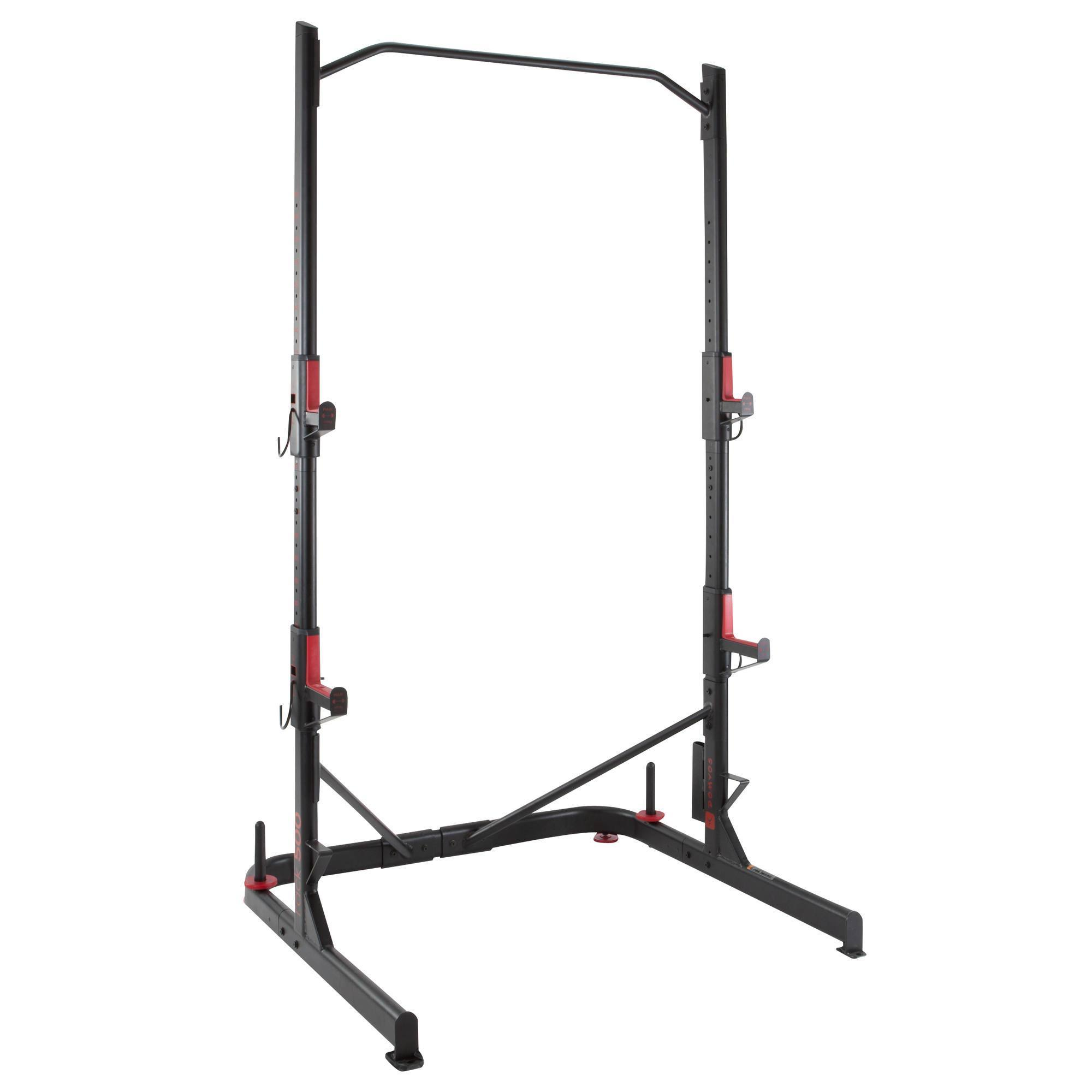 Rack De Musculation Squat Traction Clubs Collectivités
