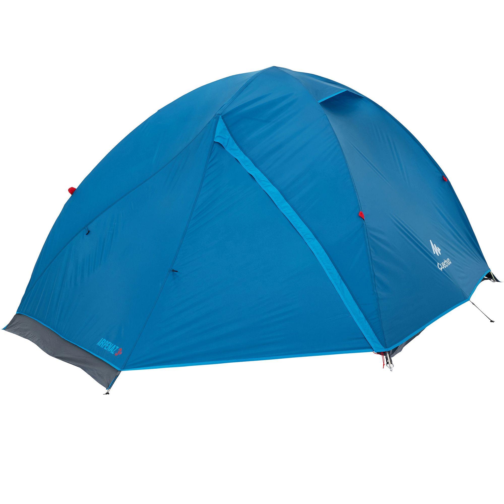 Tente de camping ARPENAZ 3+ | 3 personnes bleu