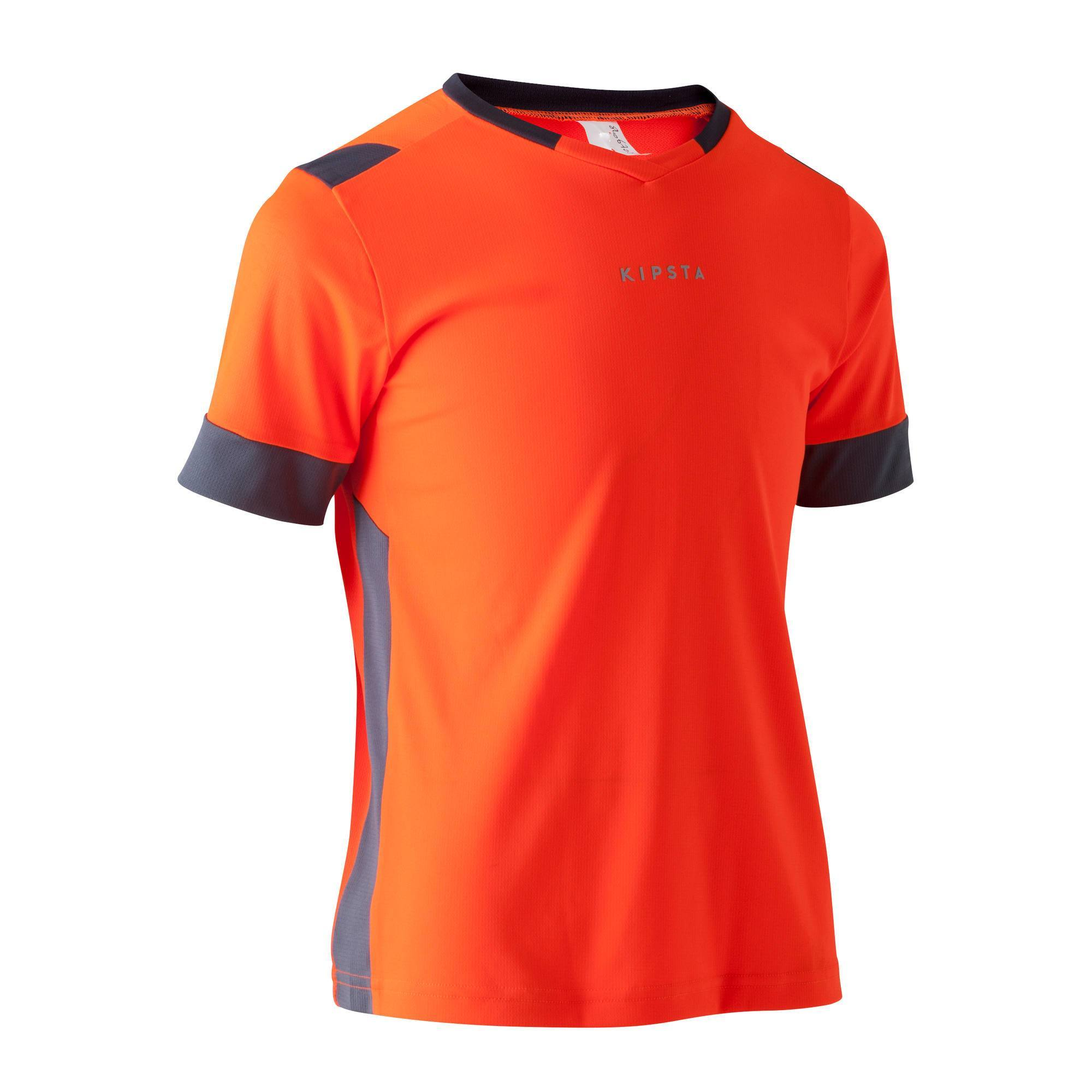 Maillot de football enfant F500 orange