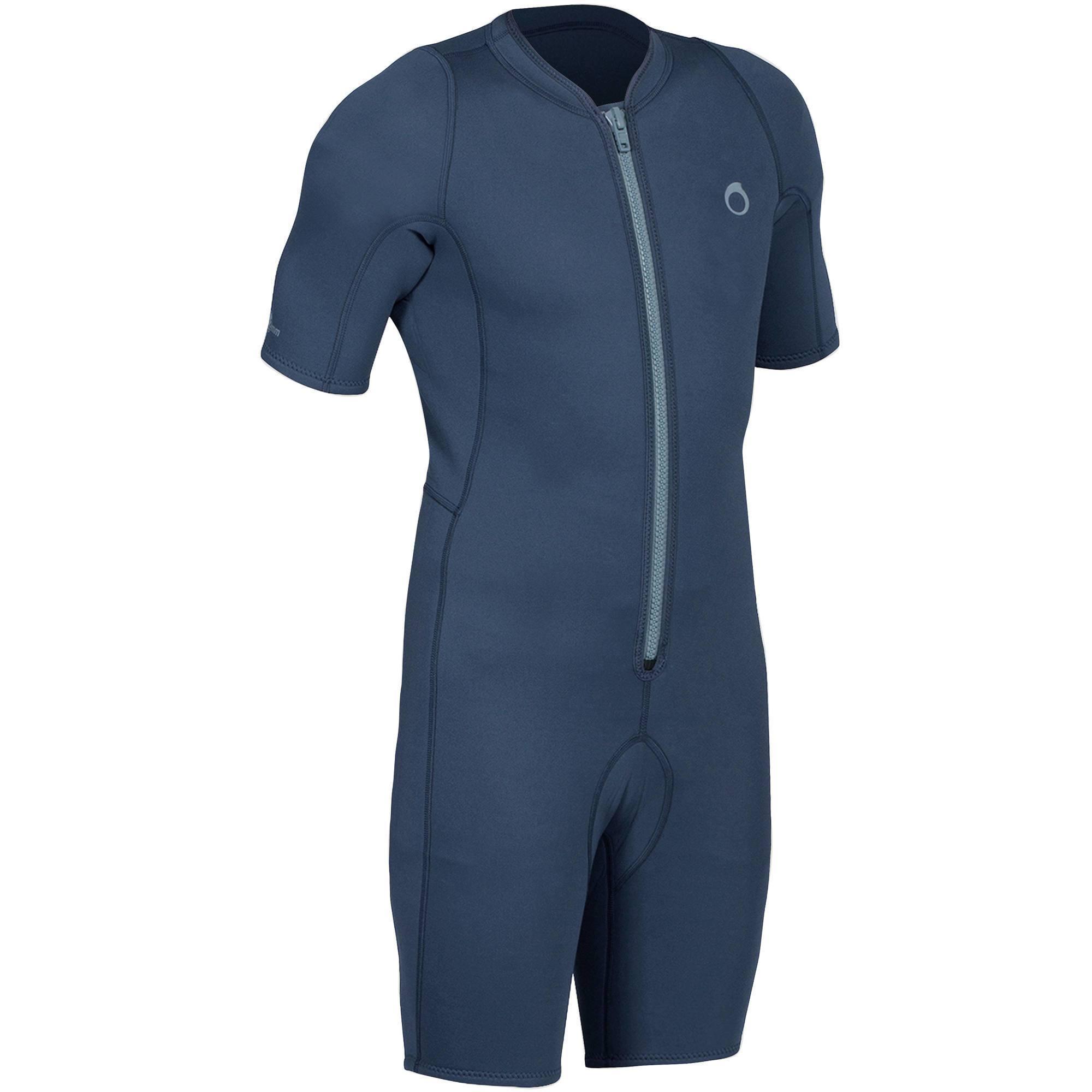 Shorty de snorkeling 100 homme bleu