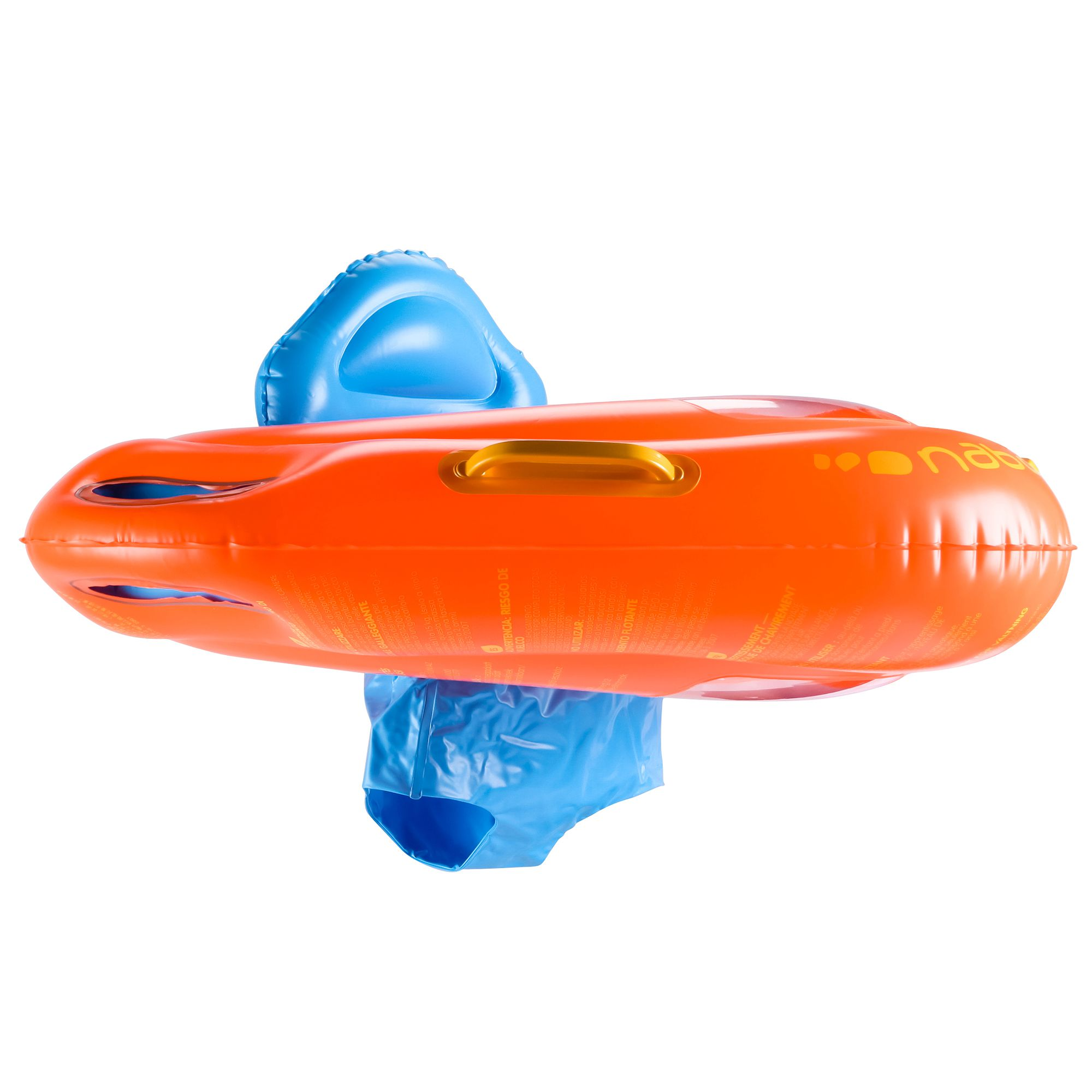 Bou e si ge b b orange avec hublot avec poign es clubs for Siege enfant 15kg