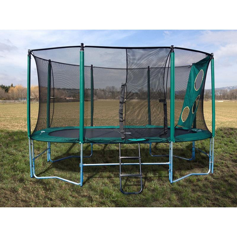 Pack trampoline ovalie clubs collectivit s decathlon pro for Trampoline piscine decathlon