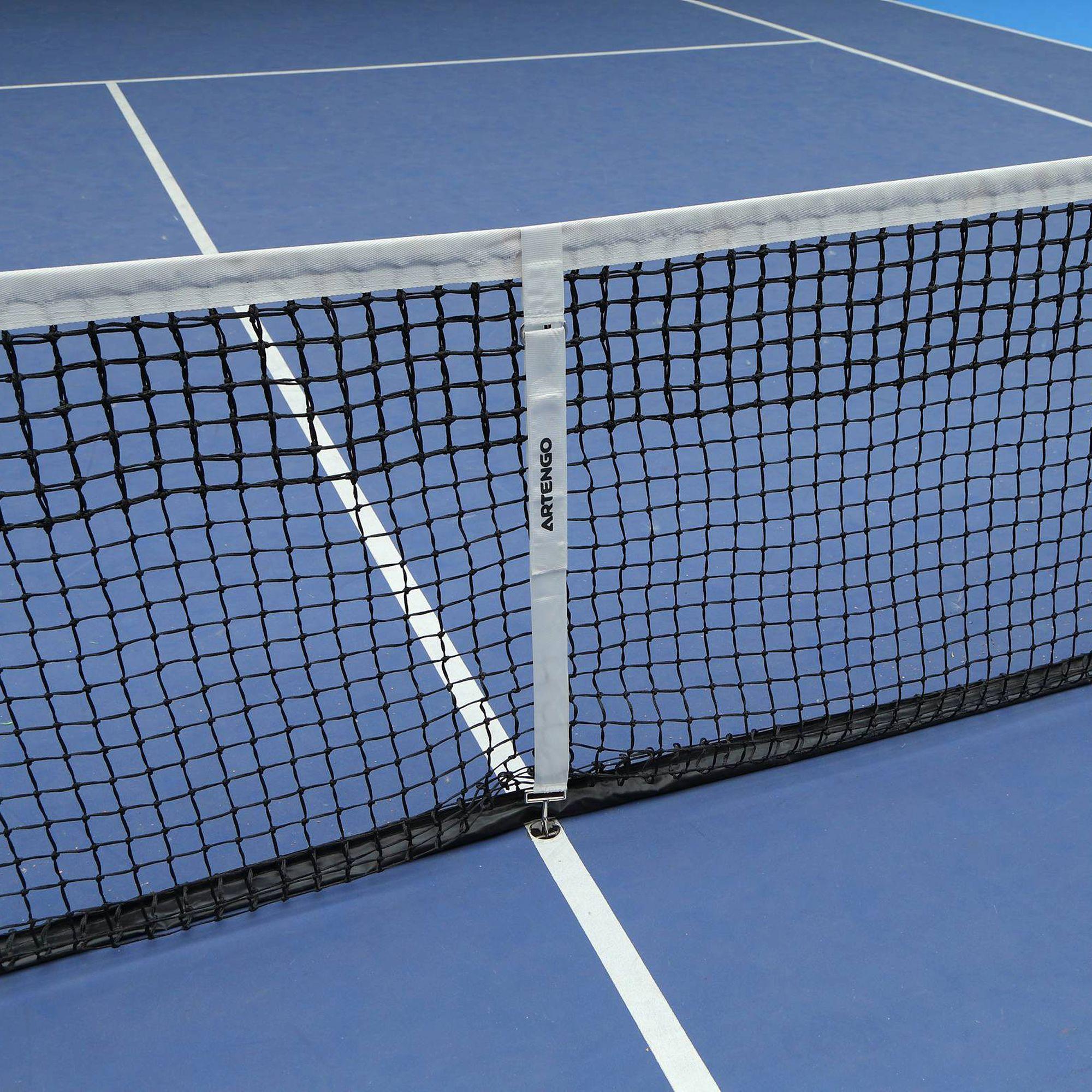 Filet de tennis regulator net artengo clubs for Dimension filet de tennis
