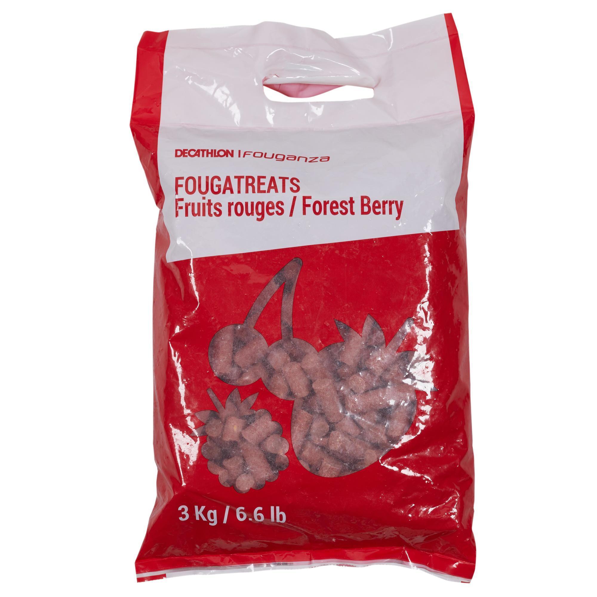 Friandises équitation cheval et poney FOUGATREATS fruits rouges - 3KG