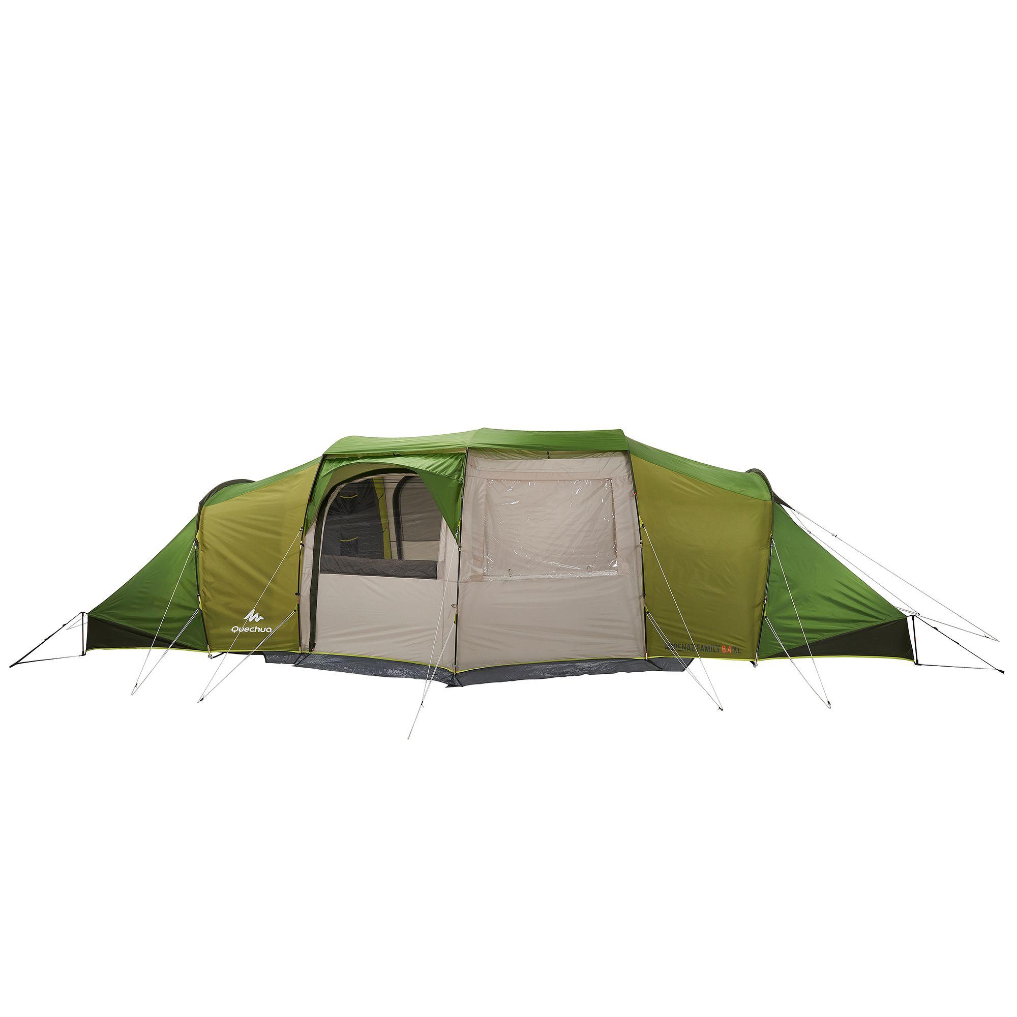 tente de camping familiale arpenaz 8 4 xl 8 personnes clubs collectivit s decathlon pro. Black Bedroom Furniture Sets. Home Design Ideas