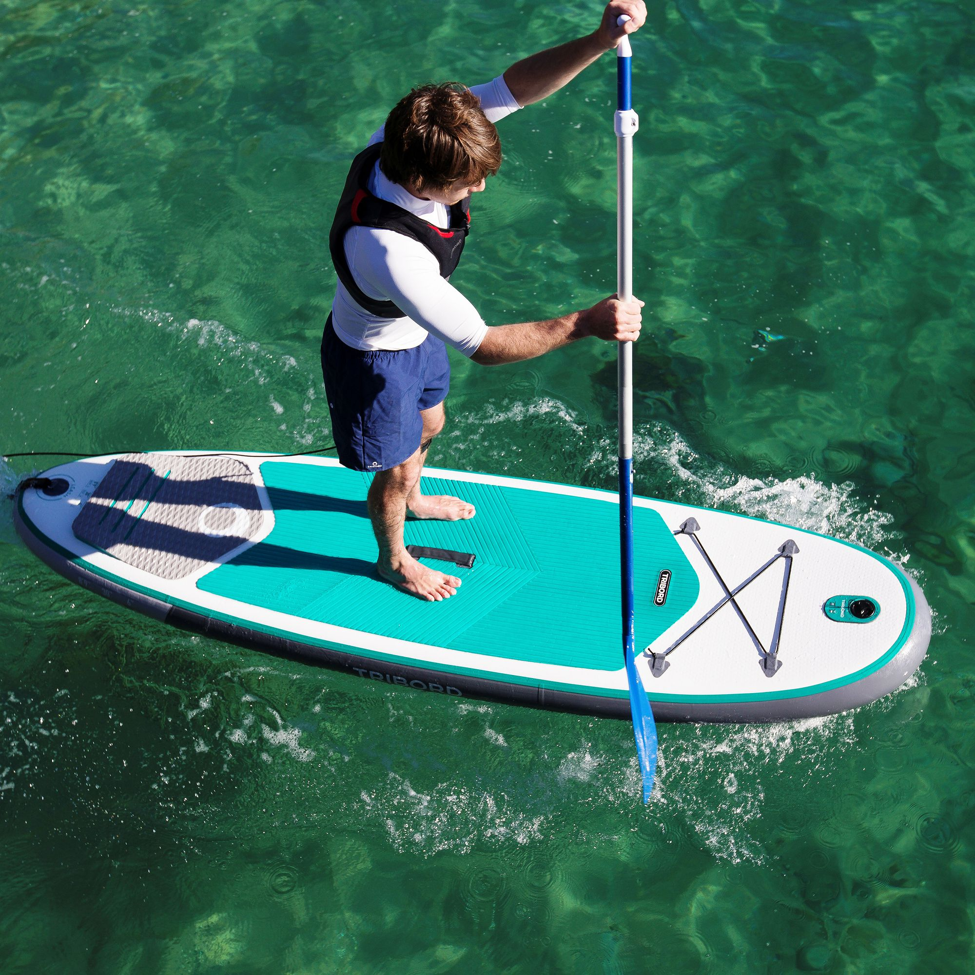 paddle gonflable decathlon