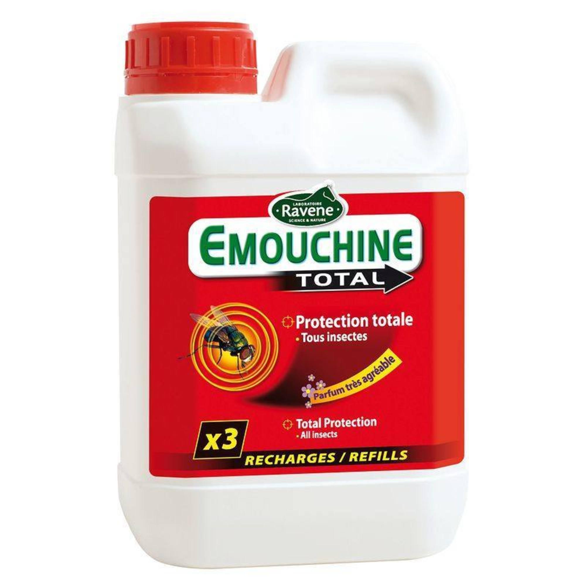Recharge équitation cheval et poney EMOUCHINE TOTAL 1,5 L
