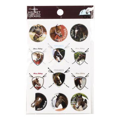 Stickers blasons chevaux équitation enfant