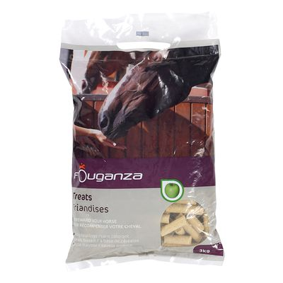 Friandises pour chevaux et poneys FOUGATREATS pomme - 3KG