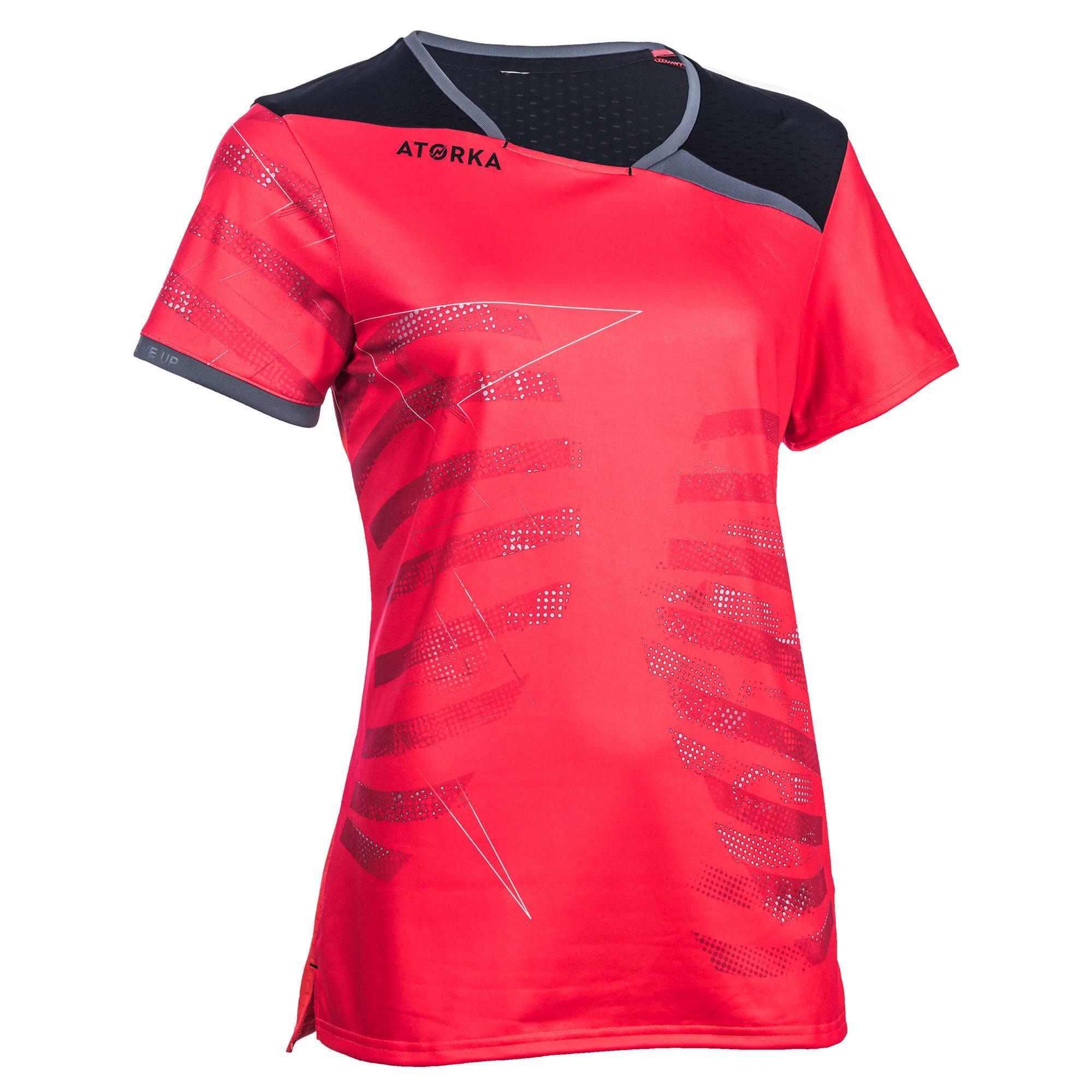 Maillot de handball H500 rose et noir