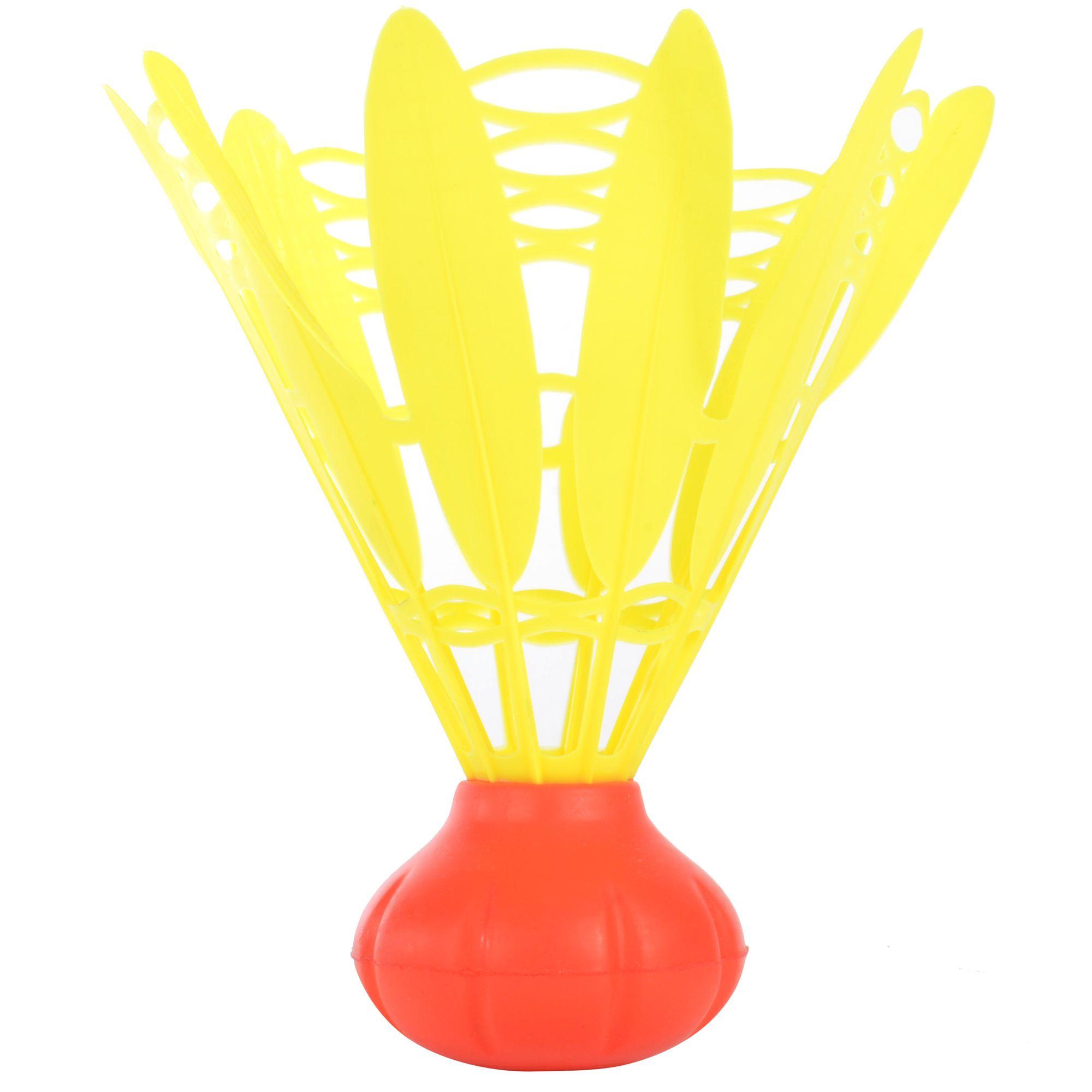 ARTENGO Mega shuttle jaune/rouge