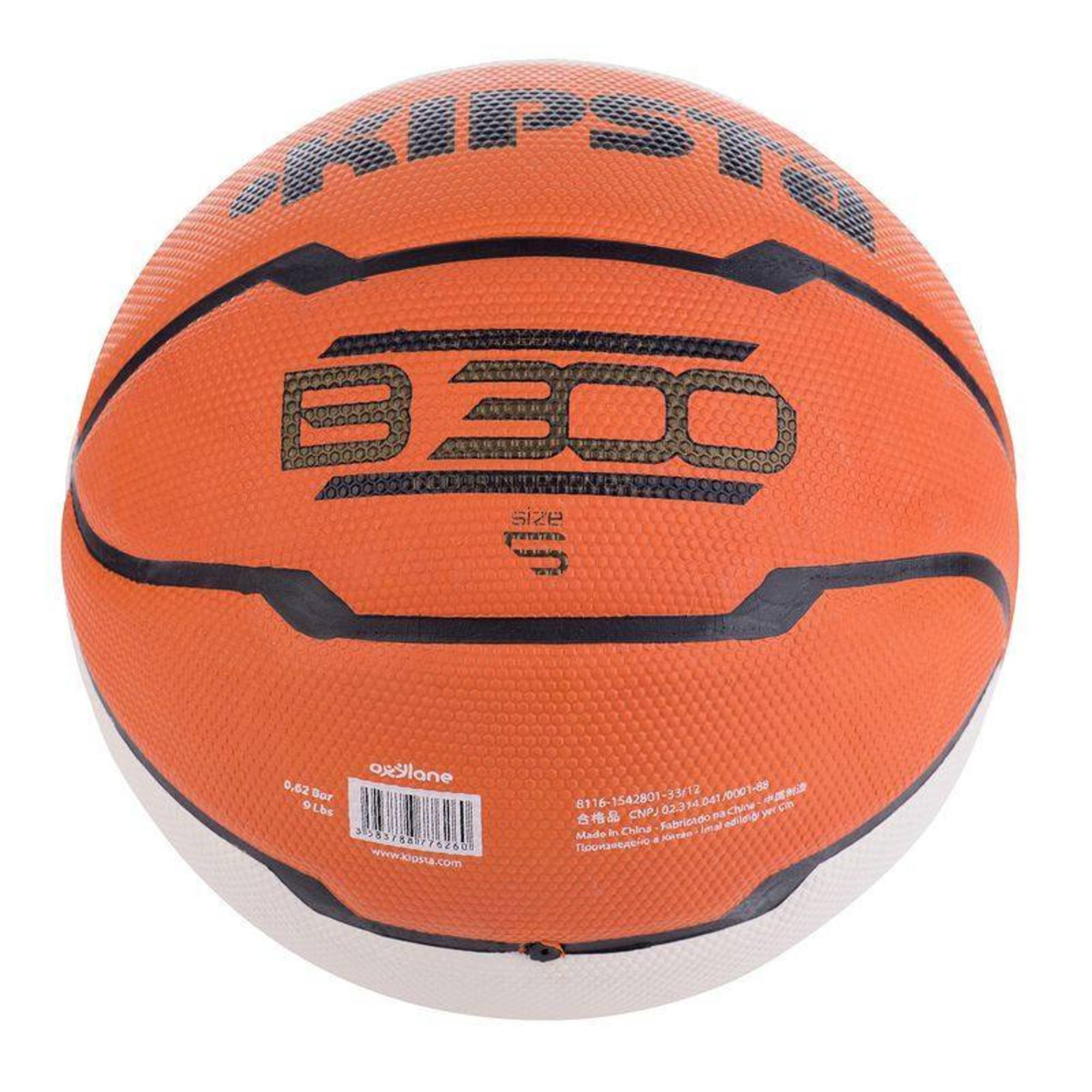 Ballon basket ball b300 taille 5 entrainement clubs collectivit s decathlon pro - Ballon basket decathlon ...