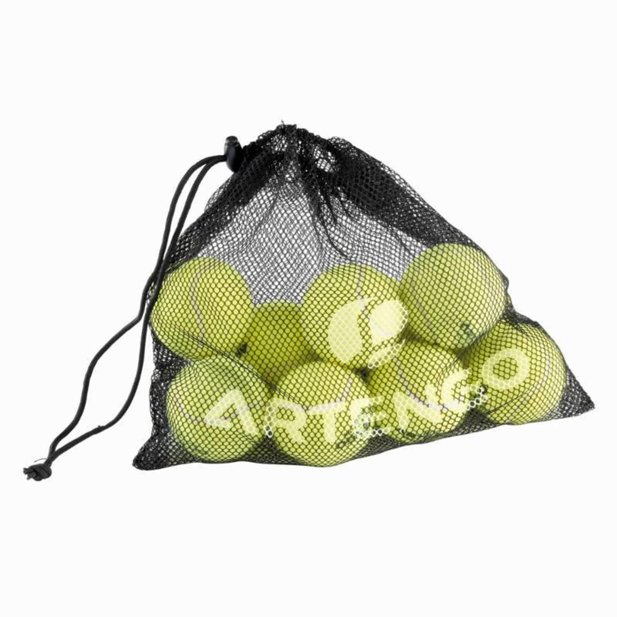 SAC DE 10 BALLES DE TENNIS ARTENGO