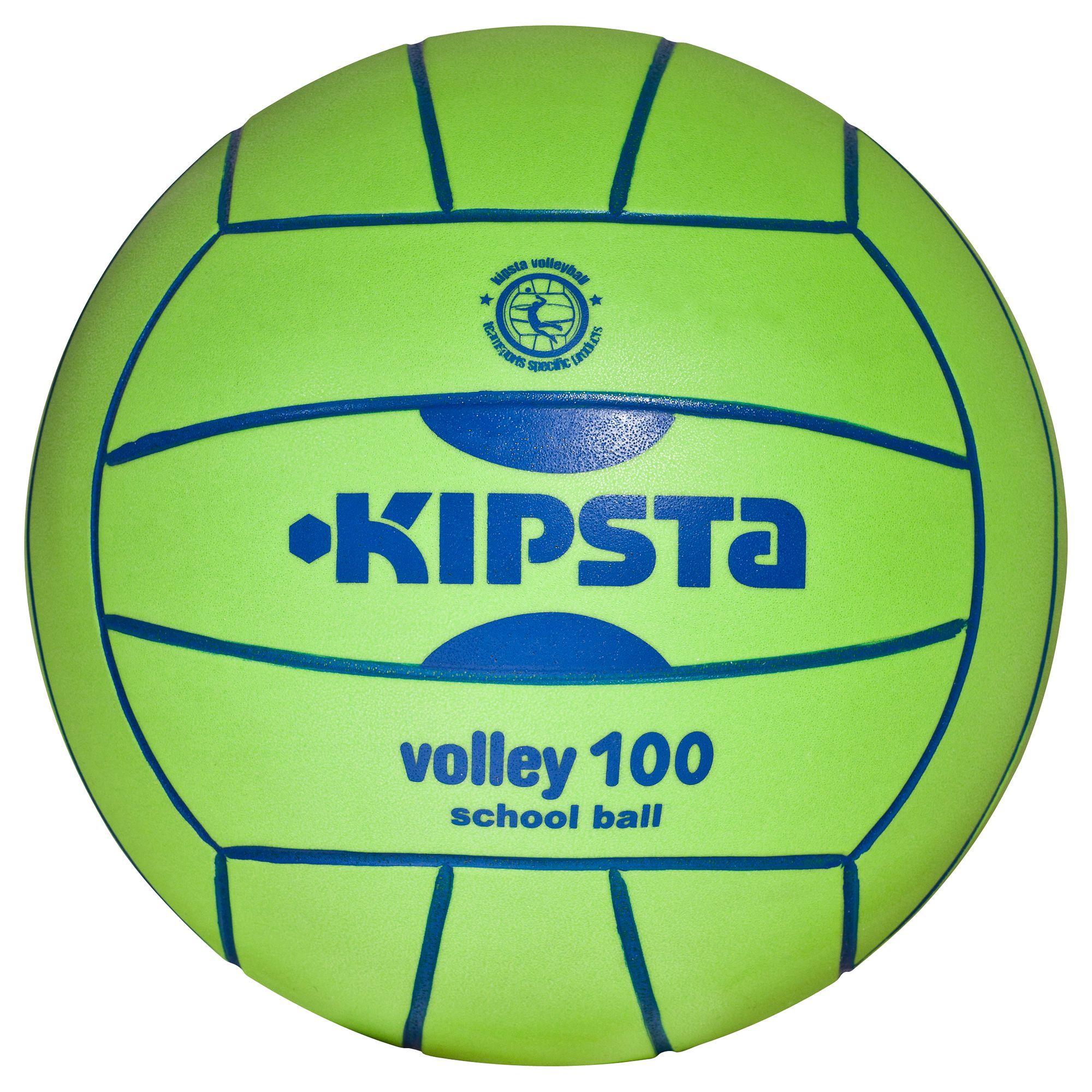 Ballon volleyball intérieur V 100 vert