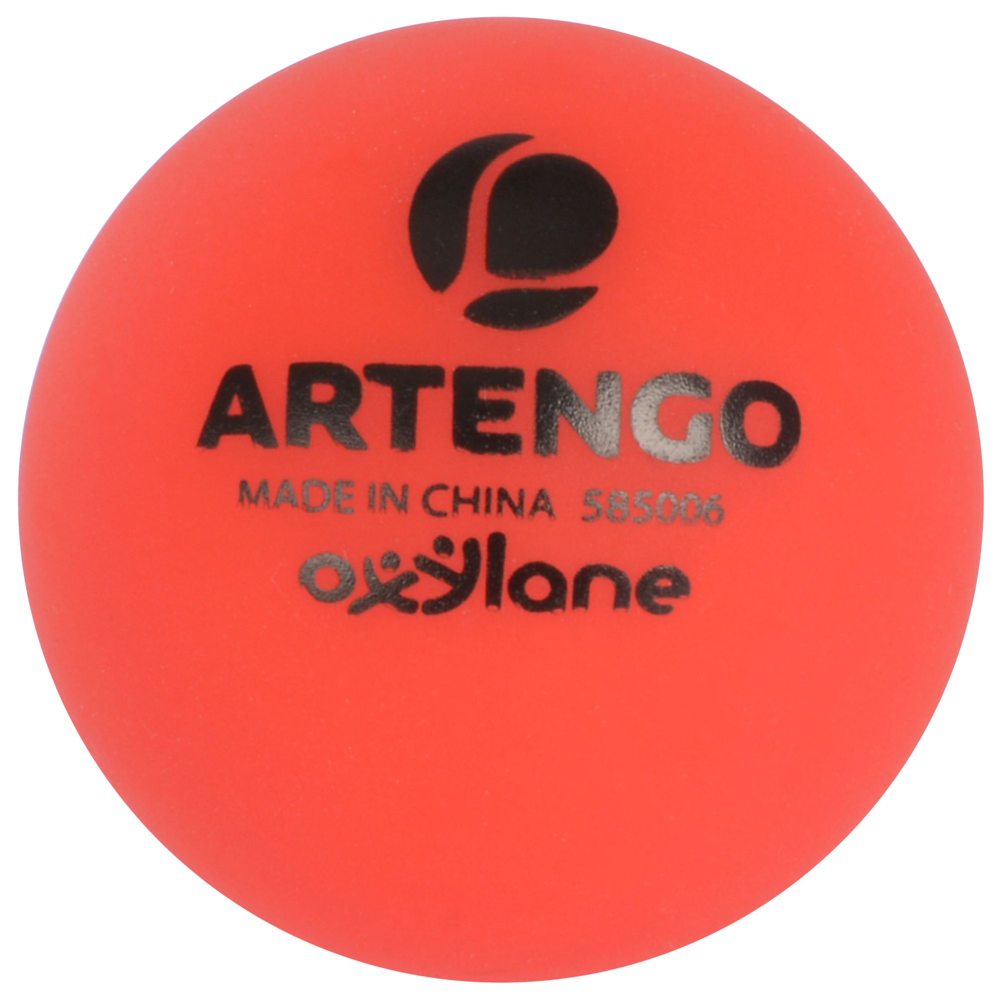 ARTENGO PLASTIC BALL ROUGE
