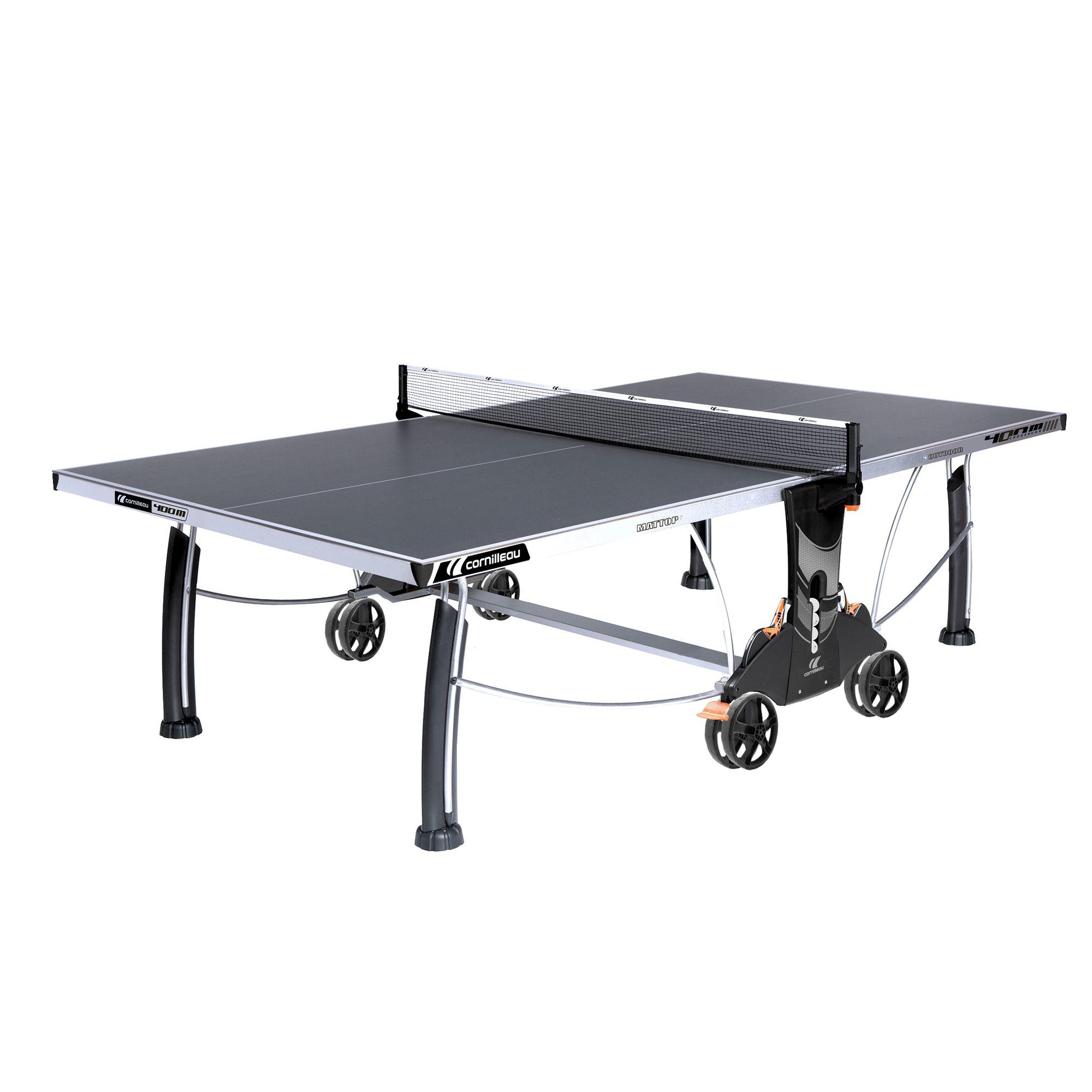 TABLE DE TENNIS DE TABLE CROSSOVER 400M GRIS
