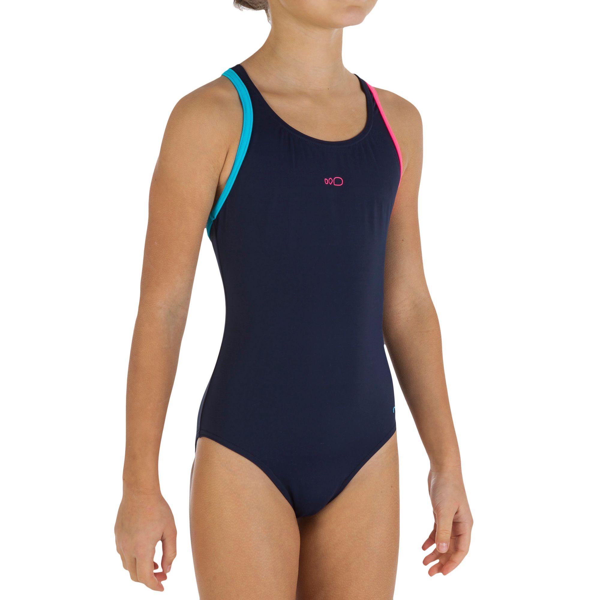 kit plet natation pour fille bleu marine id
