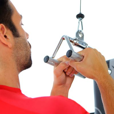 Triangle de tirage musculation
