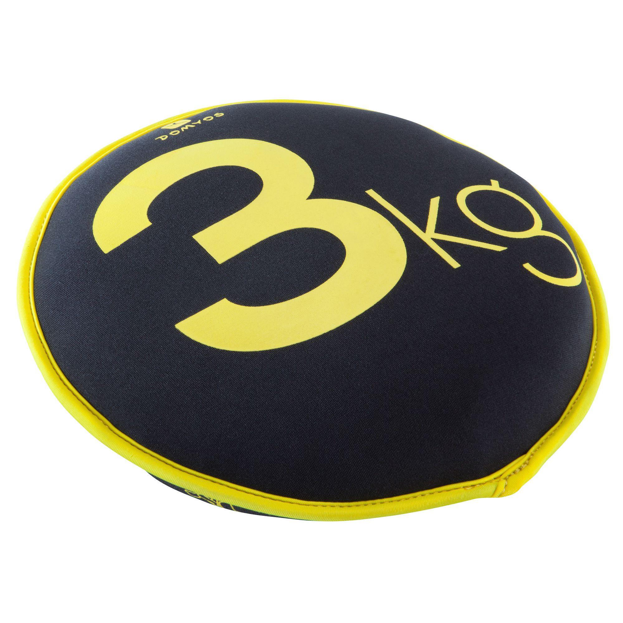 HALTERE SOUPLE SAND DISC GYM  3KG