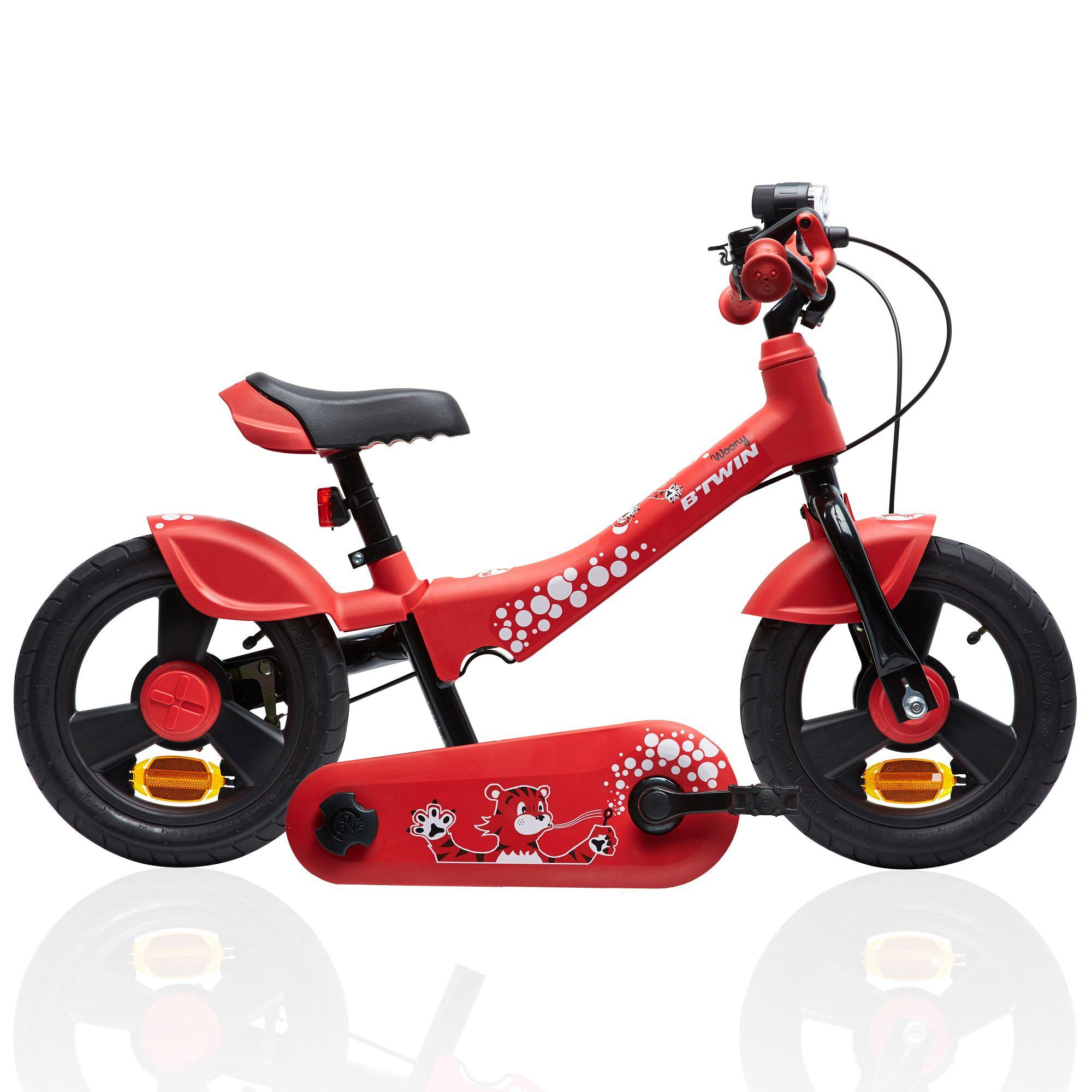 """Draisienne évolutive en vélo 12"""" WOONY 700 Rouge"""