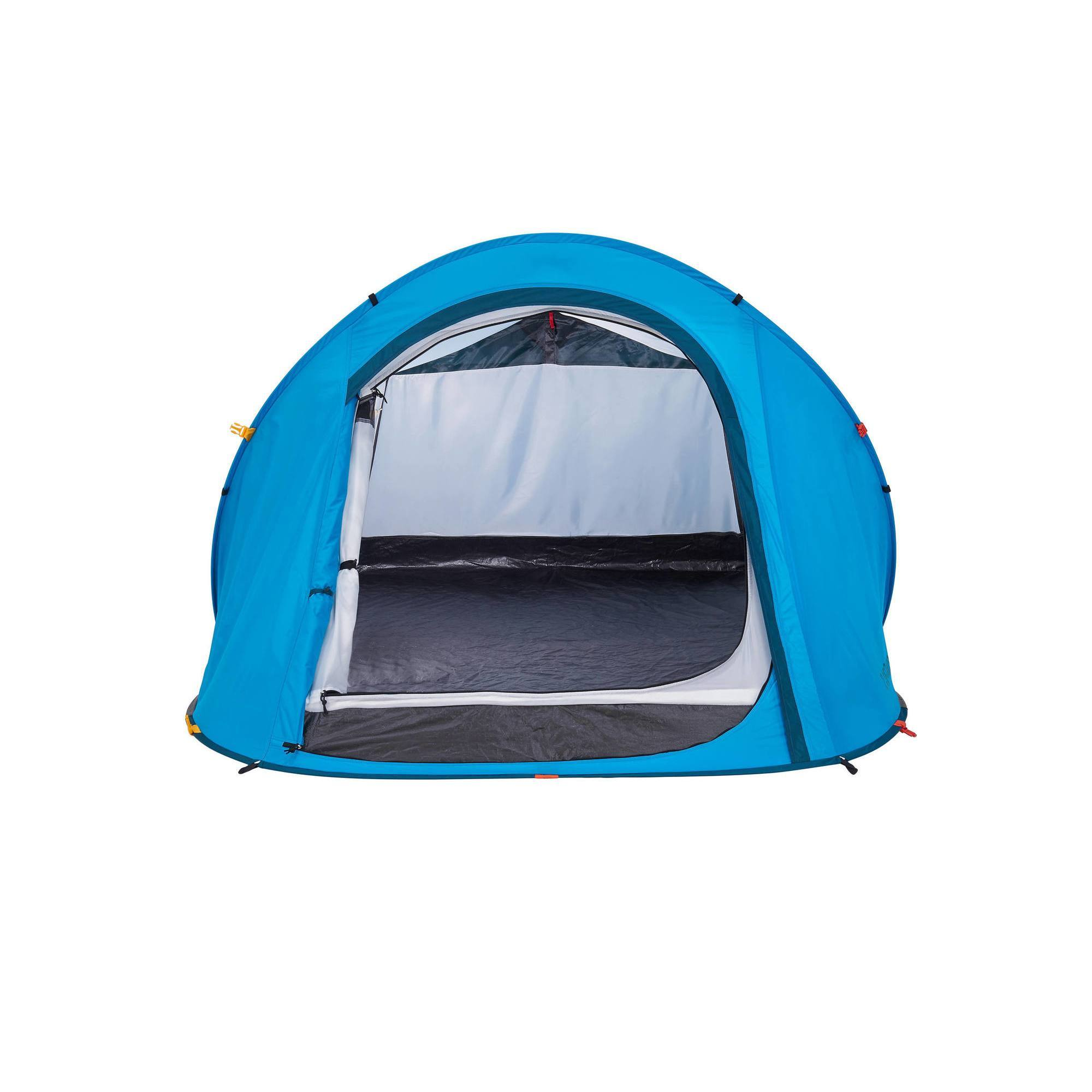 Tente de camping 2 seconds easy 2 personnes bleu